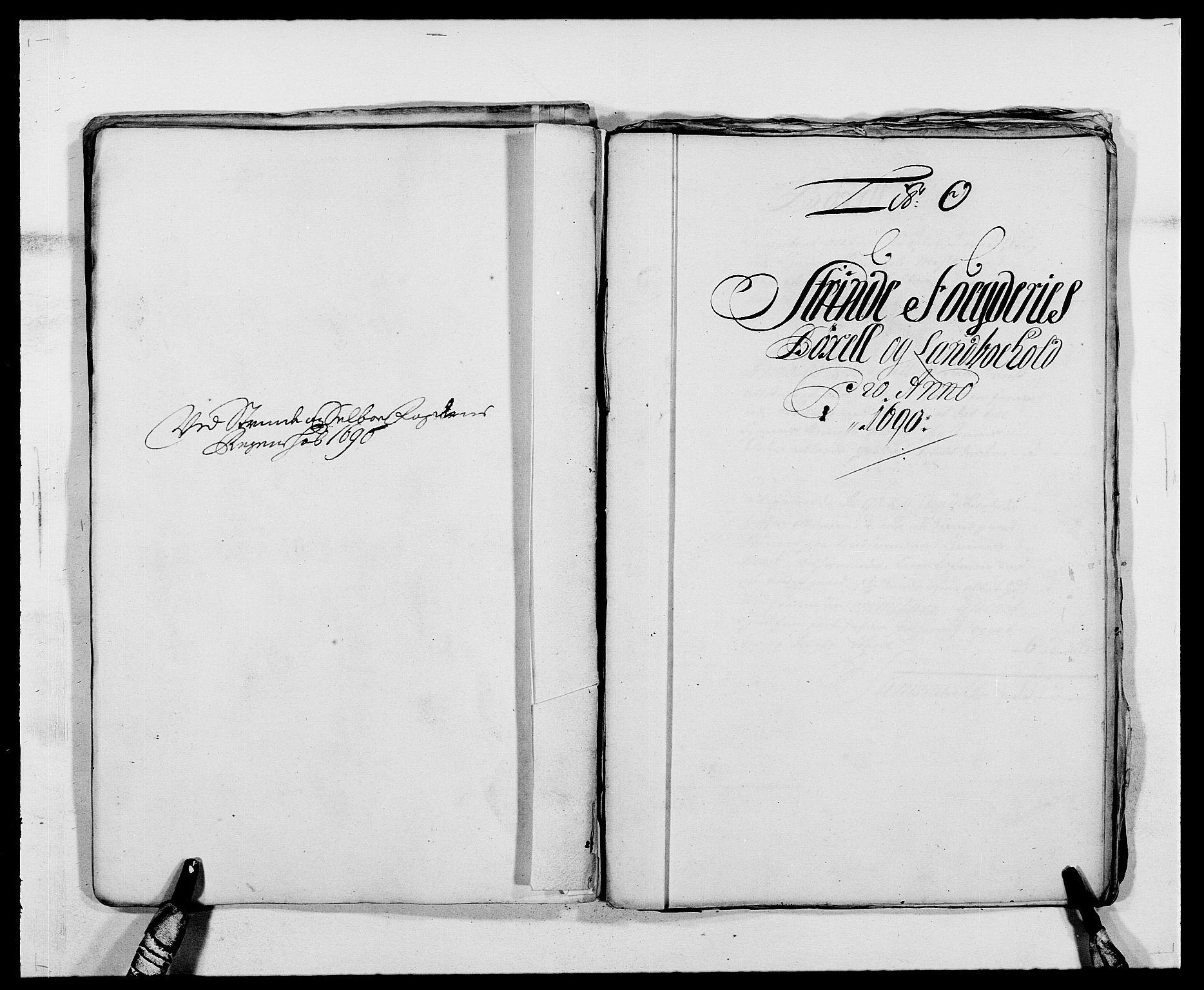 RA, Rentekammeret inntil 1814, Reviderte regnskaper, Fogderegnskap, R61/L4102: Fogderegnskap Strinda og Selbu, 1689-1690, s. 256