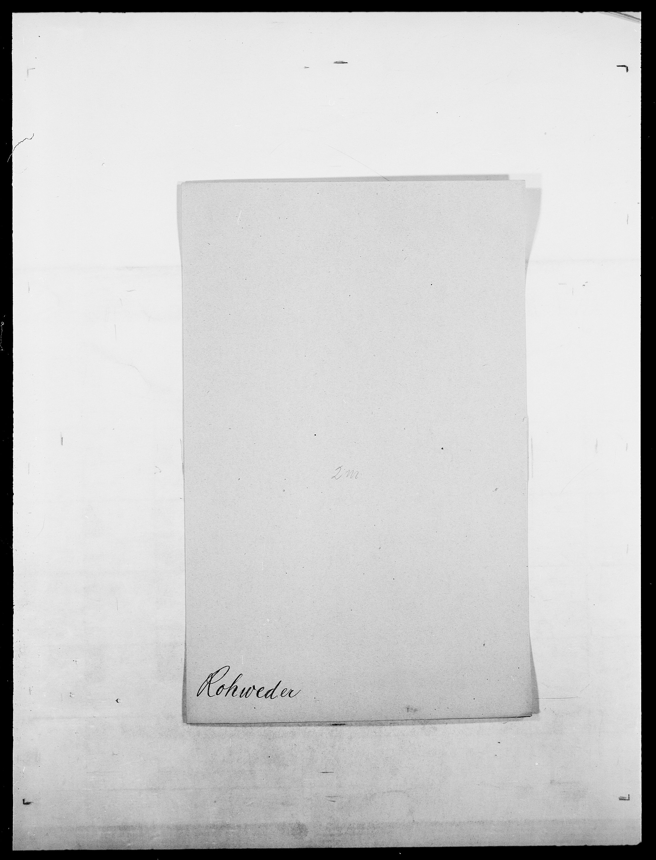 SAO, Delgobe, Charles Antoine - samling, D/Da/L0033: Roald - Røyem, s. 131