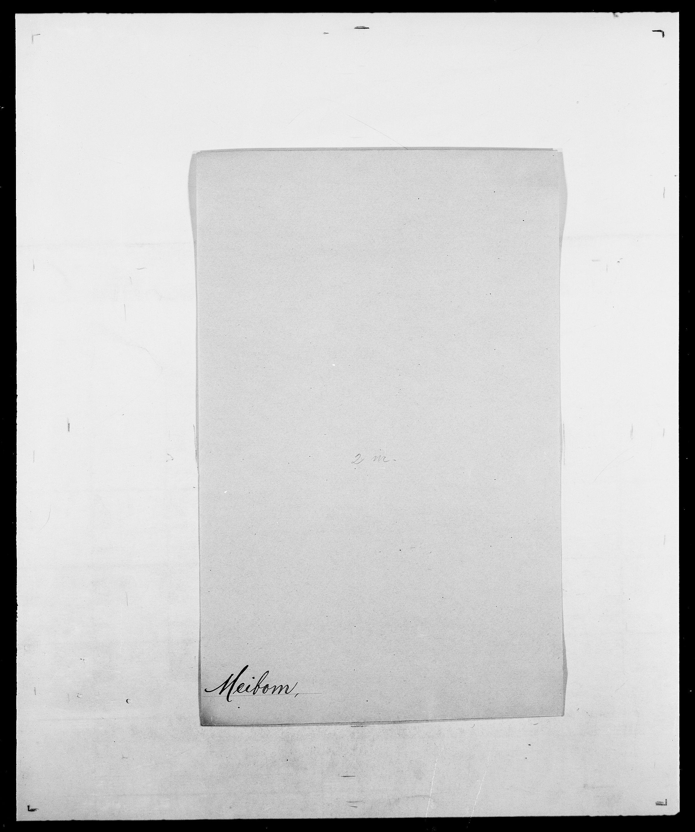 SAO, Delgobe, Charles Antoine - samling, D/Da/L0026: Mechelby - Montoppidan, s. 136