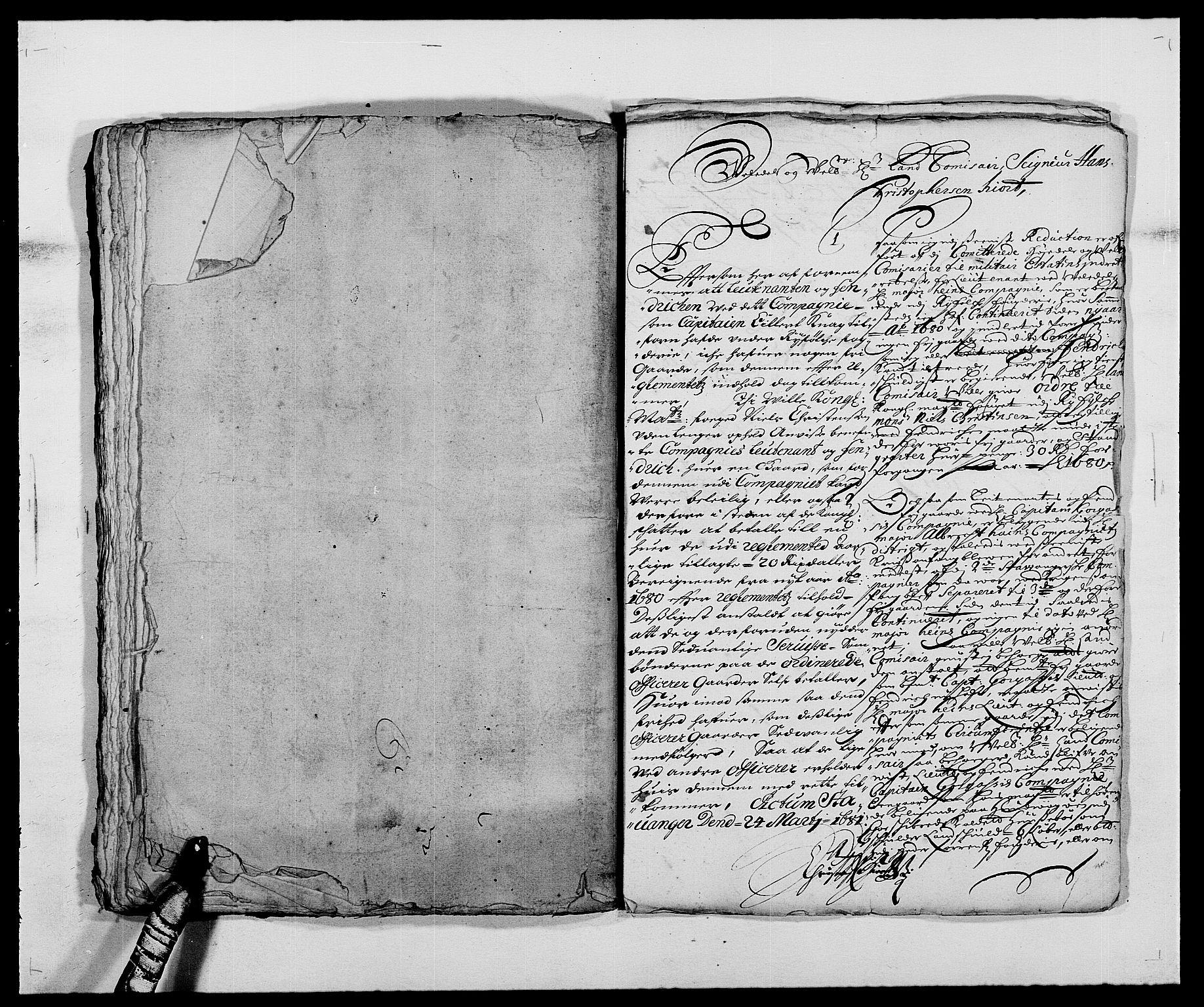 RA, Rentekammeret inntil 1814, Reviderte regnskaper, Fogderegnskap, R47/L2850: Fogderegnskap Ryfylke, 1680, s. 209