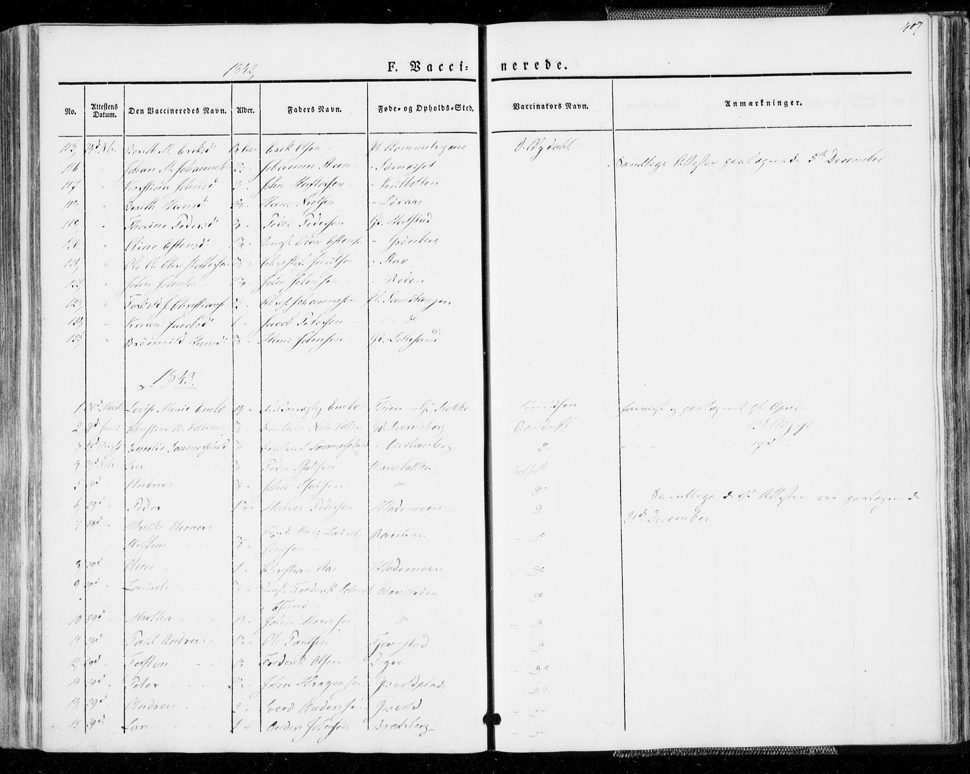 SAT, Ministerialprotokoller, klokkerbøker og fødselsregistre - Sør-Trøndelag, 606/L0290: Ministerialbok nr. 606A05, 1841-1847, s. 407