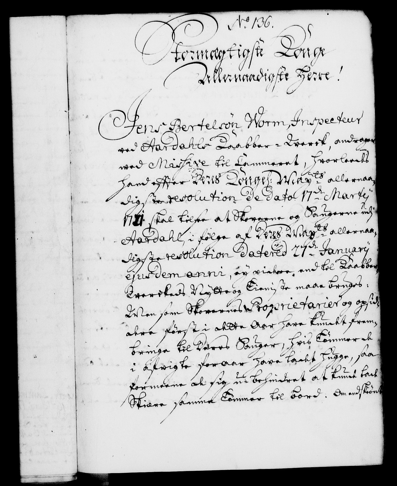 RA, Rentekammeret, Kammerkanselliet, G/Gf/Gfa/L0004: Norsk relasjons- og resolusjonsprotokoll (merket RK 52.4), 1721, s. 1043