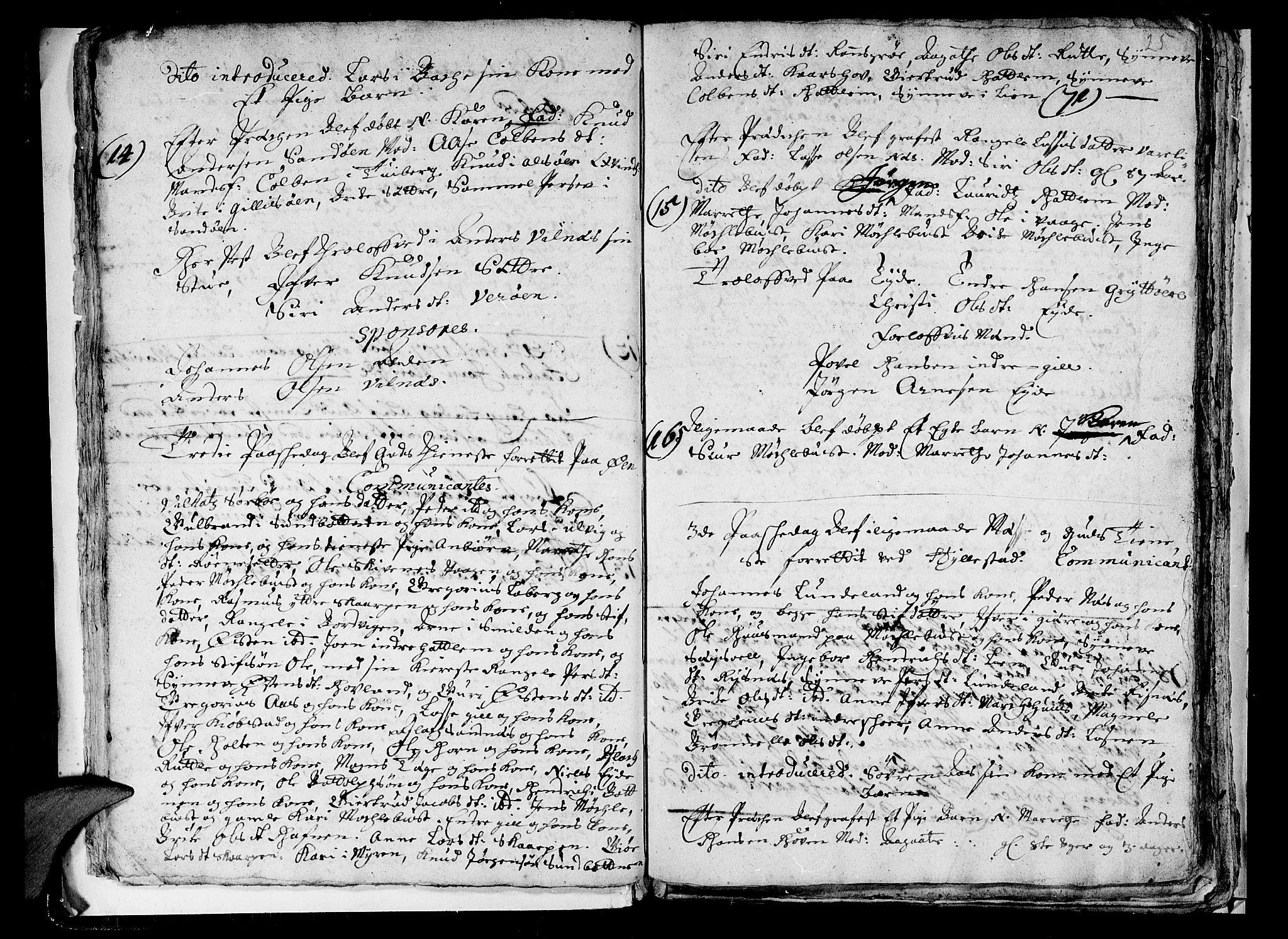 SAB, Askvoll Sokneprestembete, Ministerialbok nr. A 1, 1706-1711, s. 25
