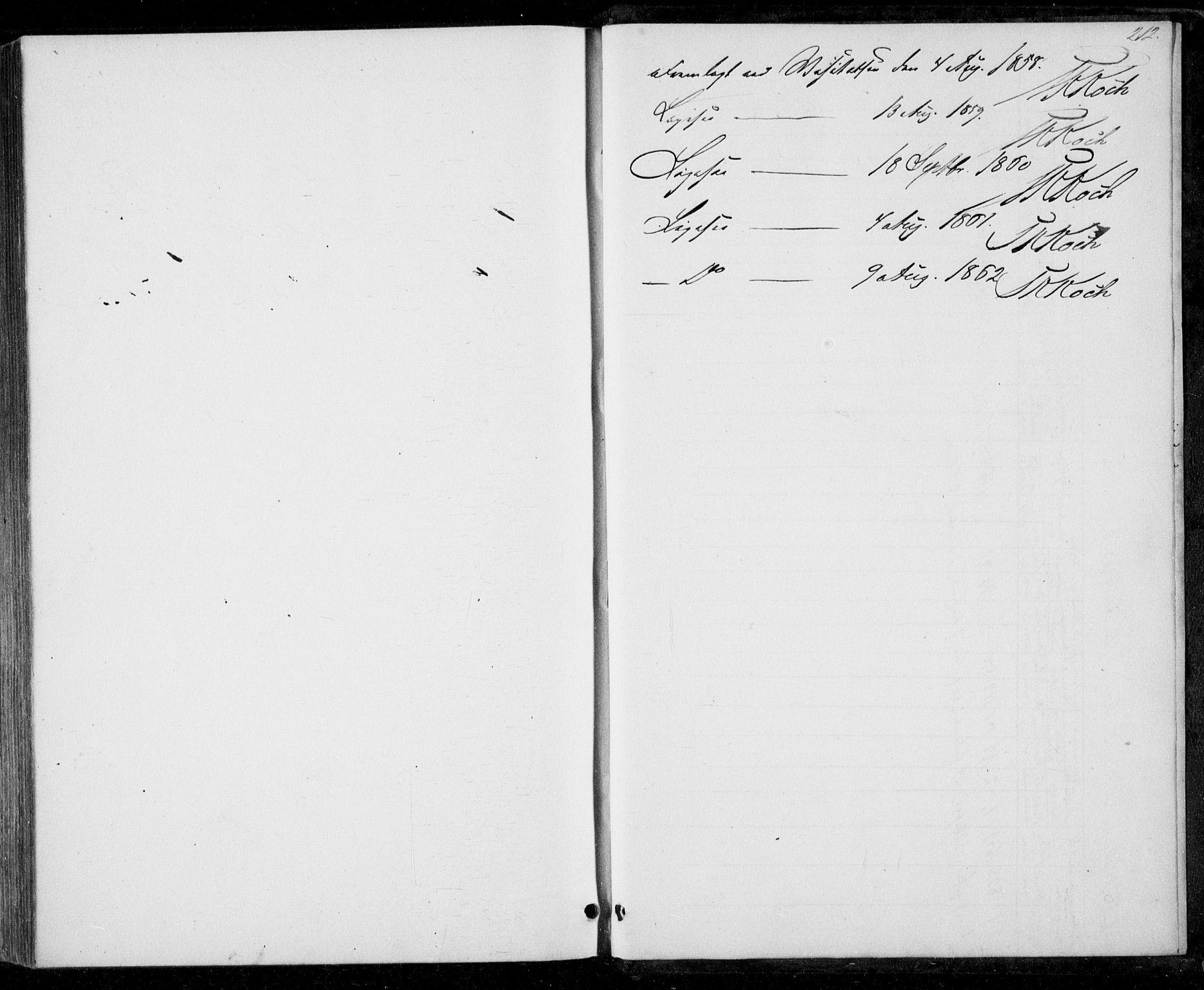 SAT, Ministerialprotokoller, klokkerbøker og fødselsregistre - Nord-Trøndelag, 706/L0040: Ministerialbok nr. 706A01, 1850-1861, s. 212