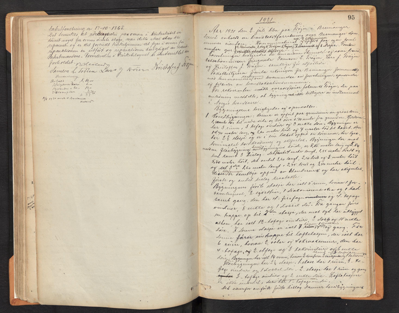 SAB, Lensmannen i Bremanger, 0012/L0002: Branntakstprotokoll, 1879-1947, s. 94b-95a