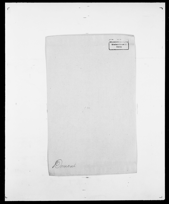 SAO, Delgobe, Charles Antoine - samling, D/Da/L0009: Dahl - v. Düren, s. 489