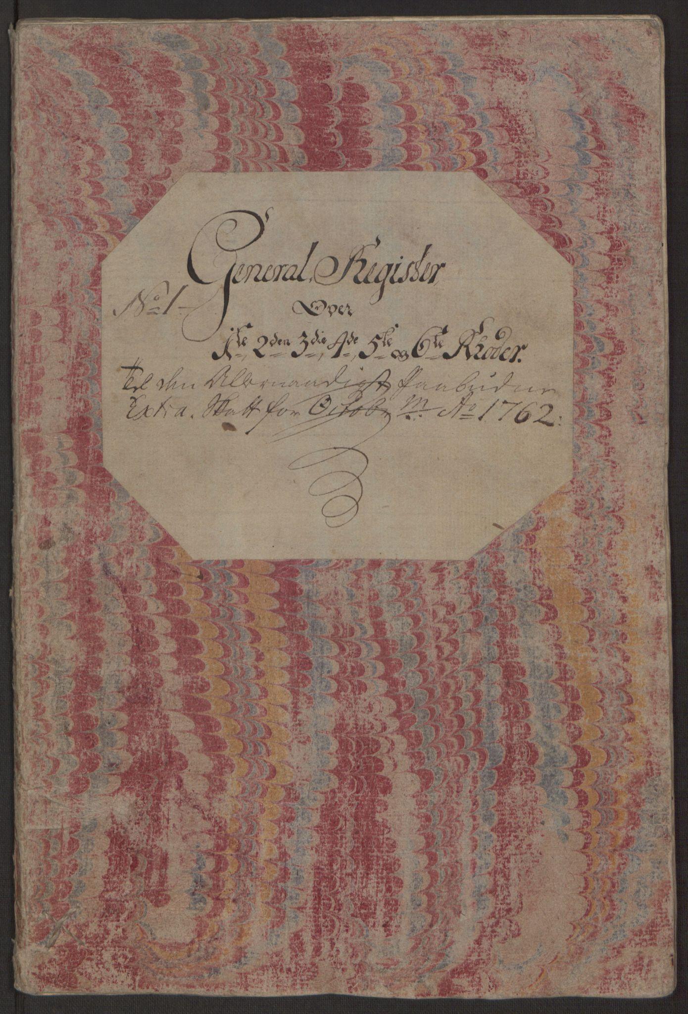 RA, Rentekammeret inntil 1814, Reviderte regnskaper, Byregnskaper, R/Rp/L0365: [P20] Kontribusjonsregnskap, 1762, s. 20