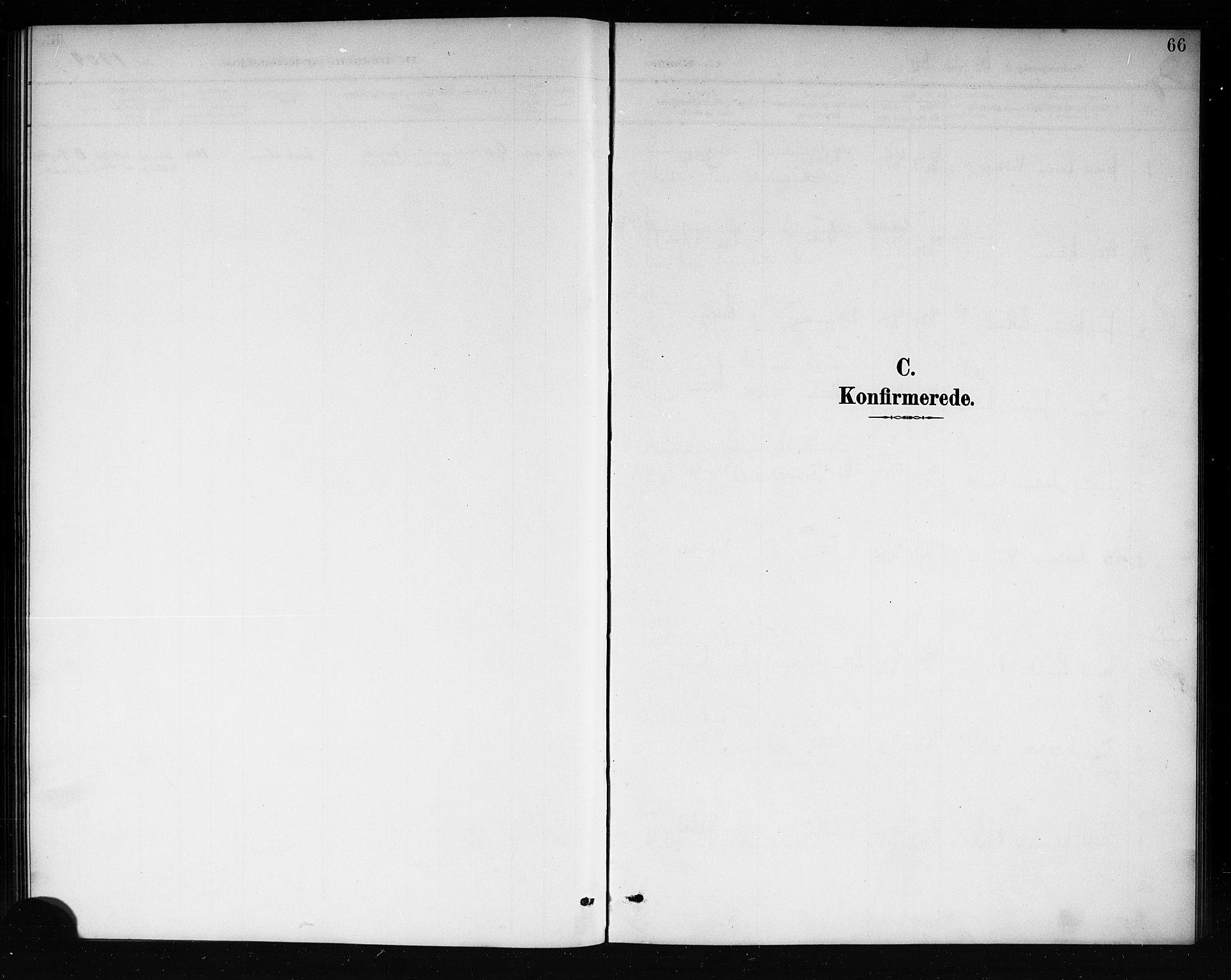 SAKO, Mo kirkebøker, G/Ga/L0002: Klokkerbok nr. I 2, 1892-1914, s. 66