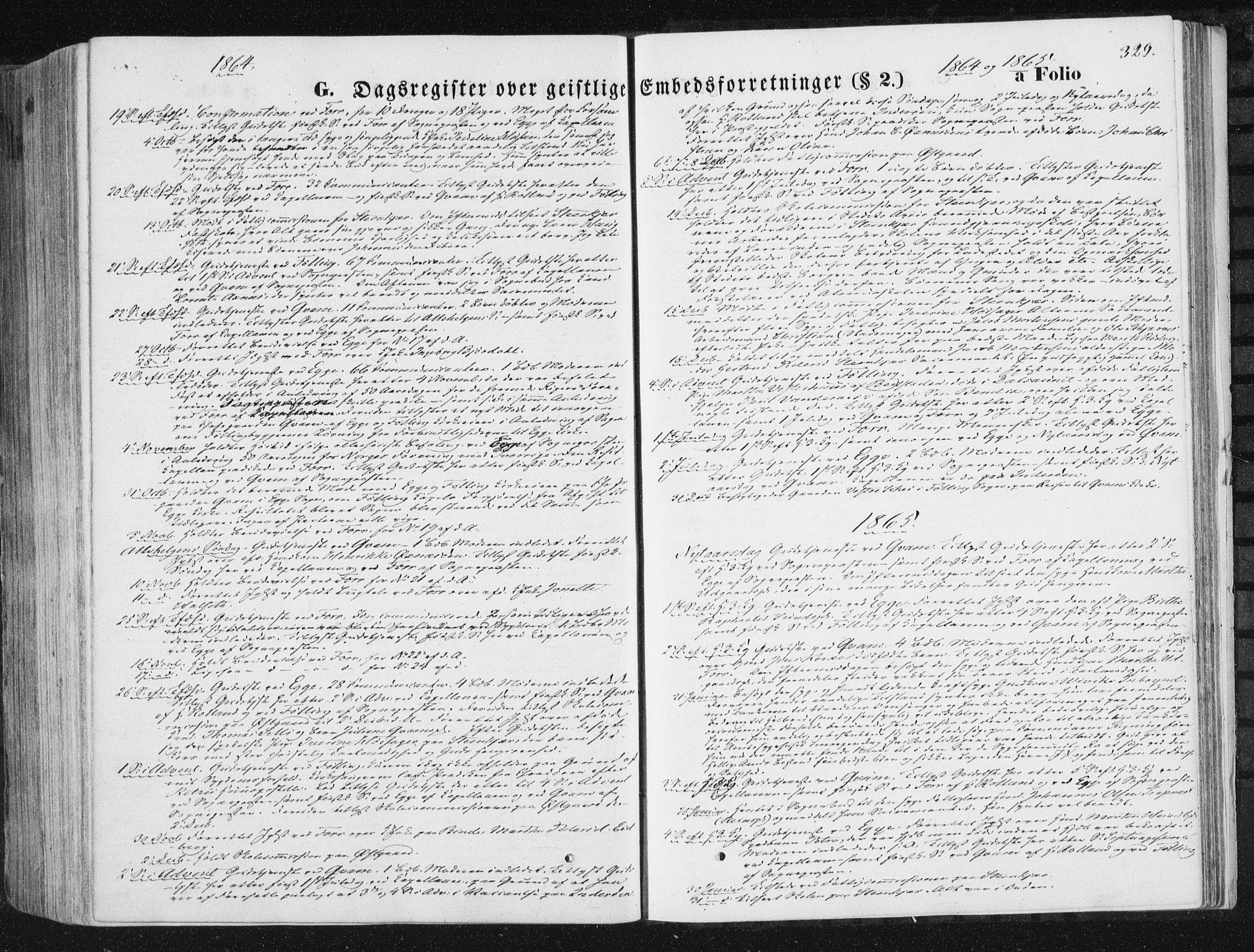 SAT, Ministerialprotokoller, klokkerbøker og fødselsregistre - Nord-Trøndelag, 746/L0447: Ministerialbok nr. 746A06, 1860-1877, s. 329