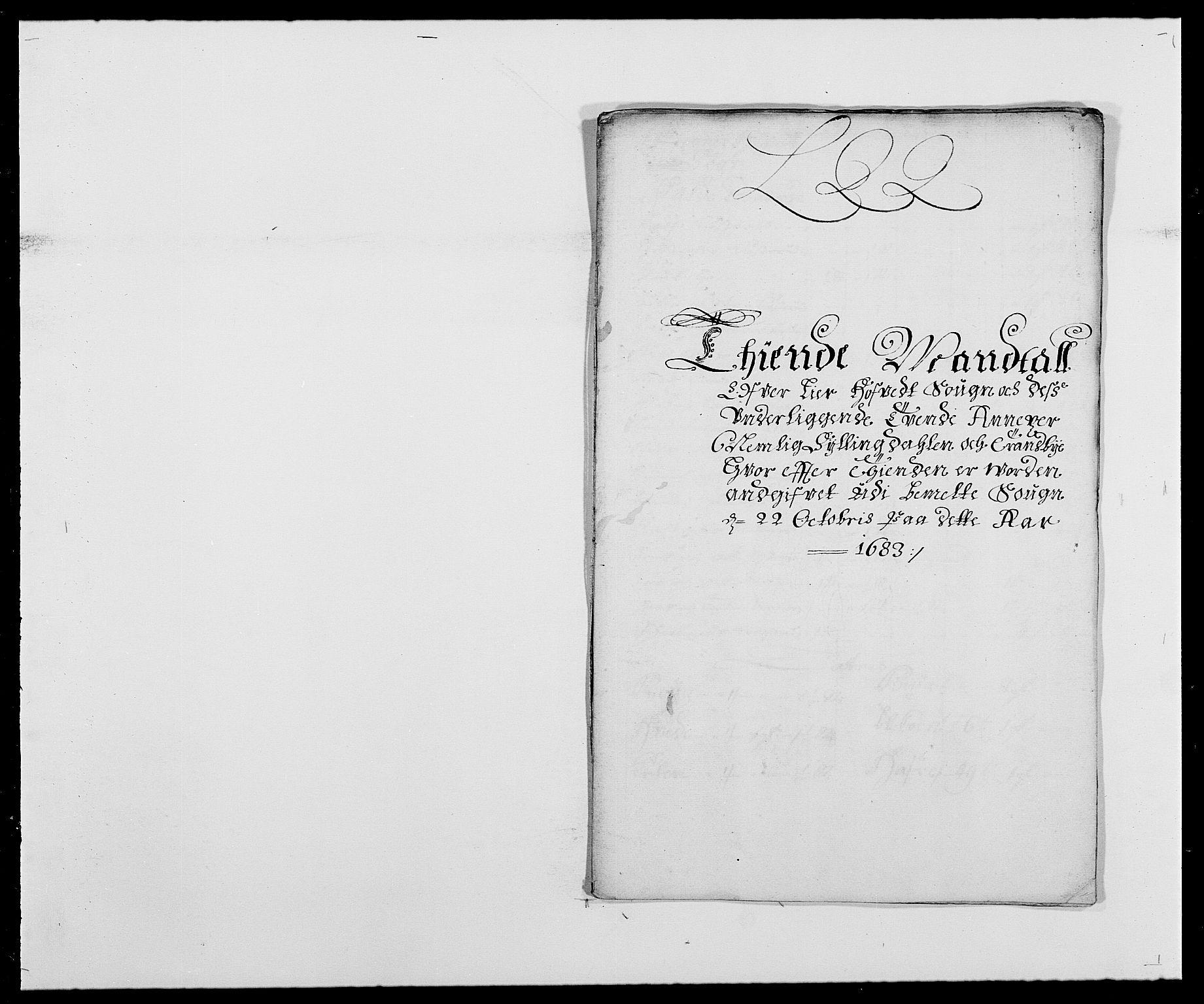 RA, Rentekammeret inntil 1814, Reviderte regnskaper, Fogderegnskap, R27/L1687: Fogderegnskap Lier, 1678-1686, s. 5