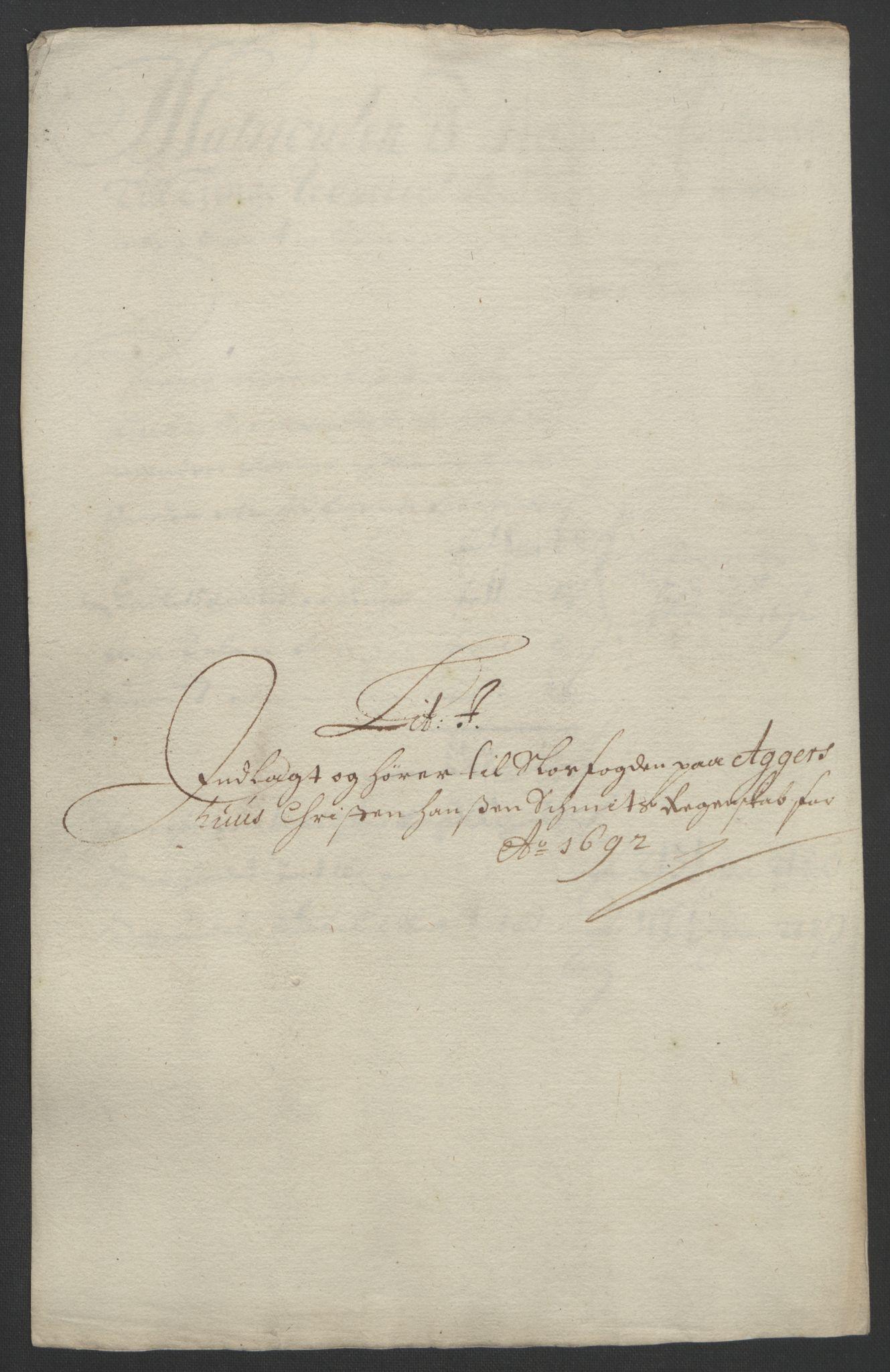RA, Rentekammeret inntil 1814, Reviderte regnskaper, Fogderegnskap, R08/L0426: Fogderegnskap Aker, 1692-1693, s. 99