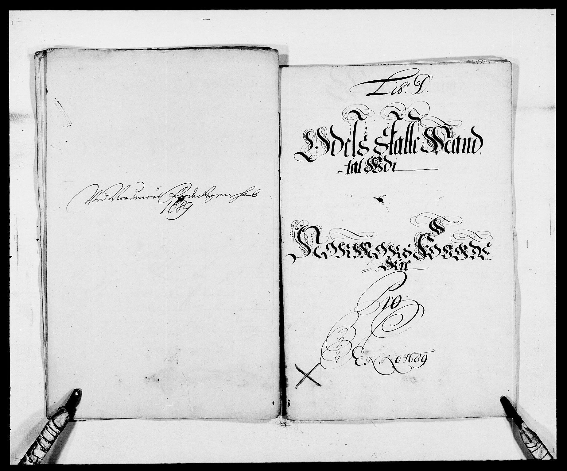 RA, Rentekammeret inntil 1814, Reviderte regnskaper, Fogderegnskap, R56/L3733: Fogderegnskap Nordmøre, 1687-1689, s. 362