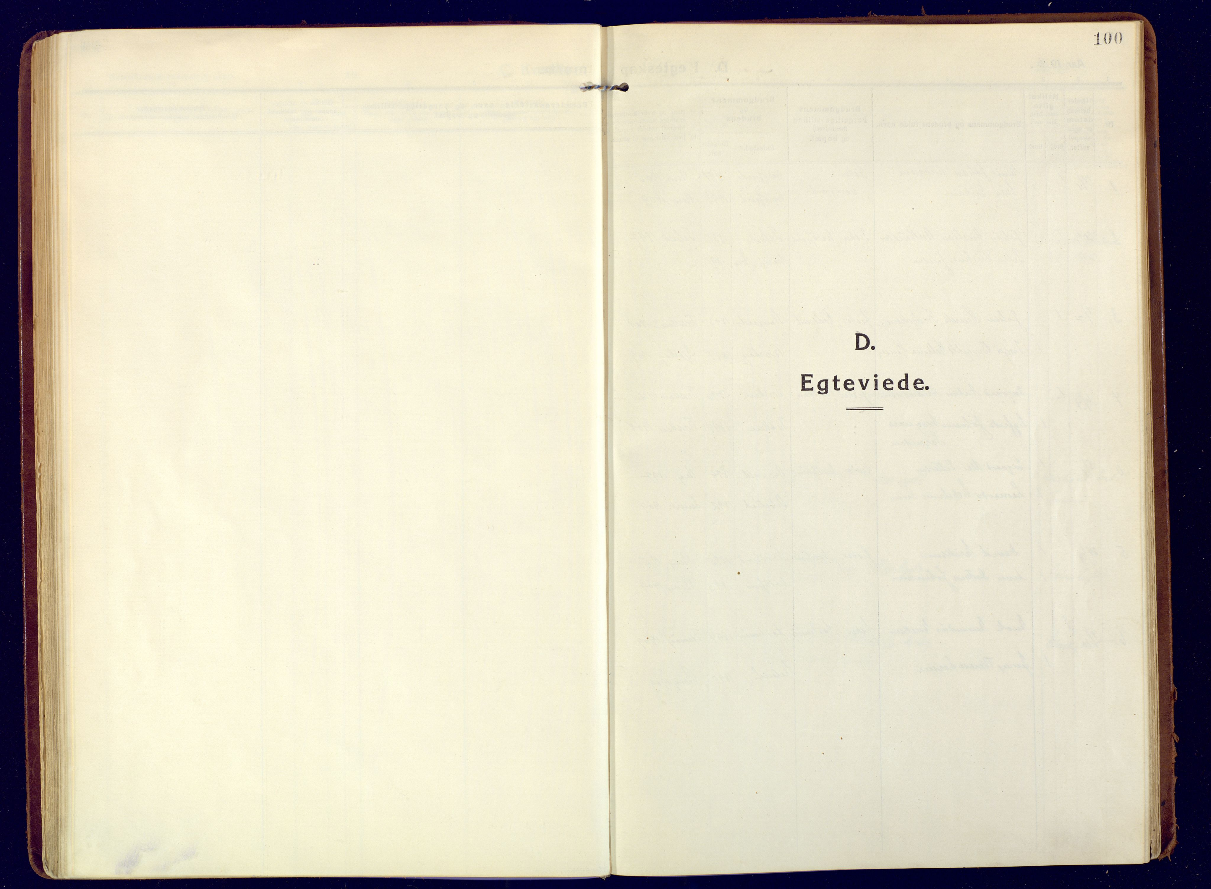 SATØ, Mefjord/Berg sokneprestkontor, G/Ga/Gaa: Ministerialbok nr. 9, 1916-1928, s. 100