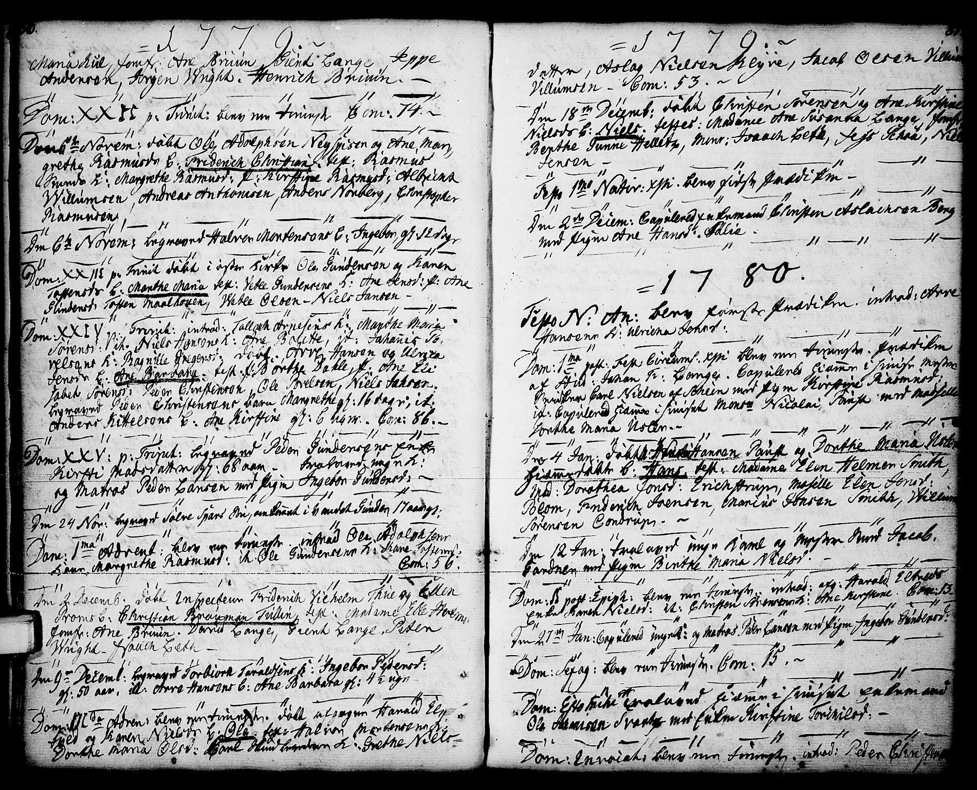 SAKO, Porsgrunn kirkebøker , F/Fa/L0001: Ministerialbok nr. 1, 1764-1814, s. 86-87