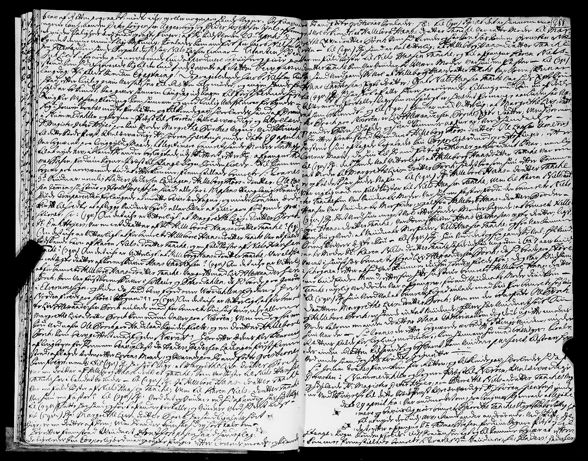 SAT, Helgeland sorenskriveri, 1/1A/L0016: Tingbok 15B, 1755-1756, s. 288