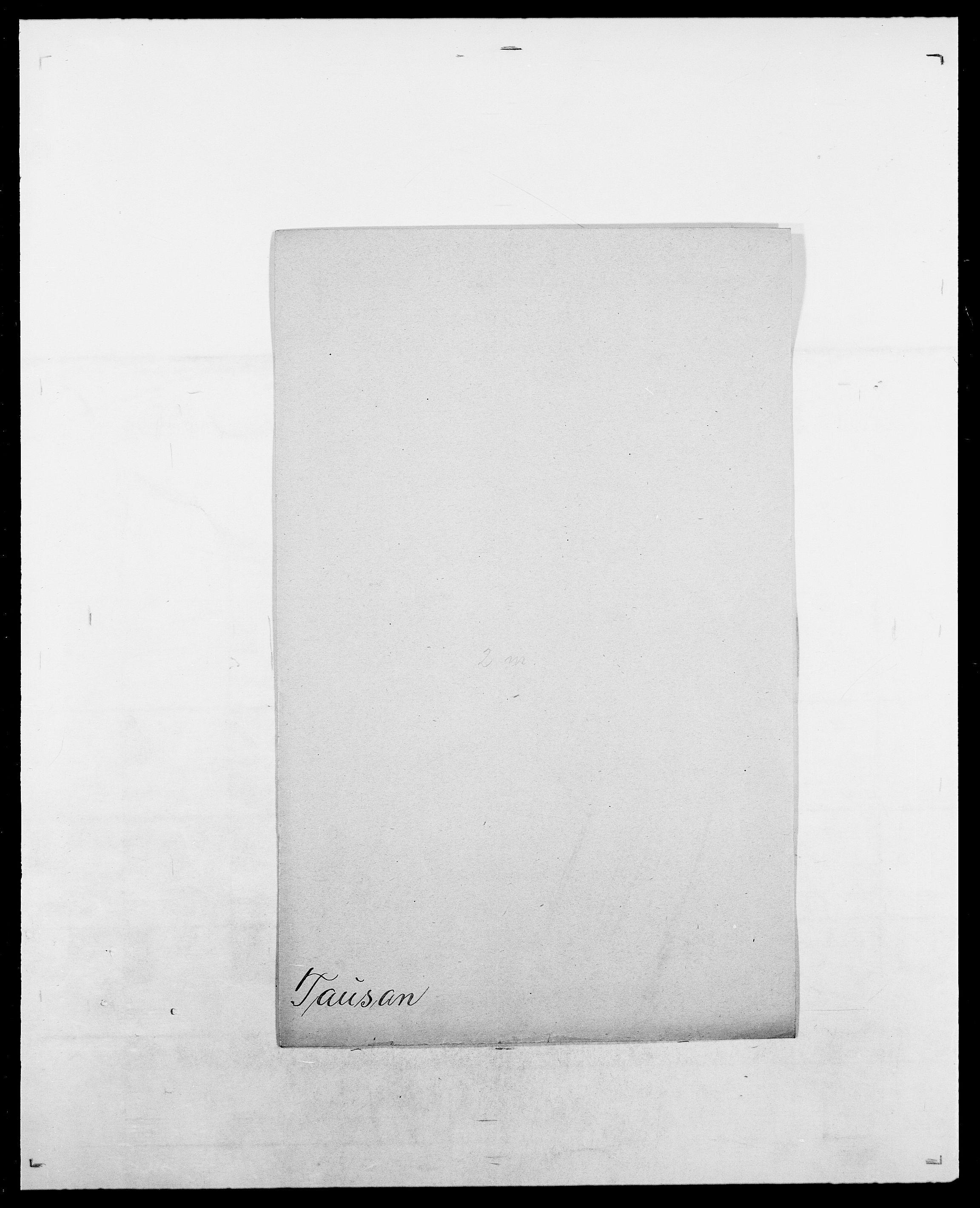 SAO, Delgobe, Charles Antoine - samling, D/Da/L0038: Svanenskjold - Thornsohn, s. 369