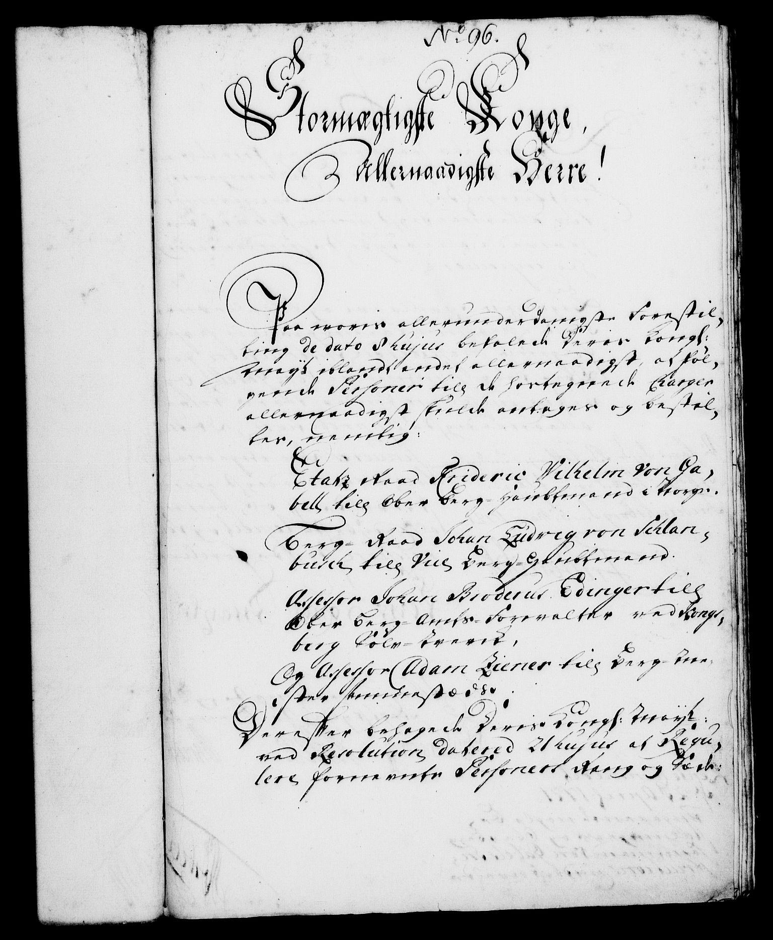 RA, Rentekammeret, Kammerkanselliet, G/Gf/Gfa/L0004: Norsk relasjons- og resolusjonsprotokoll (merket RK 52.4), 1721, s. 739