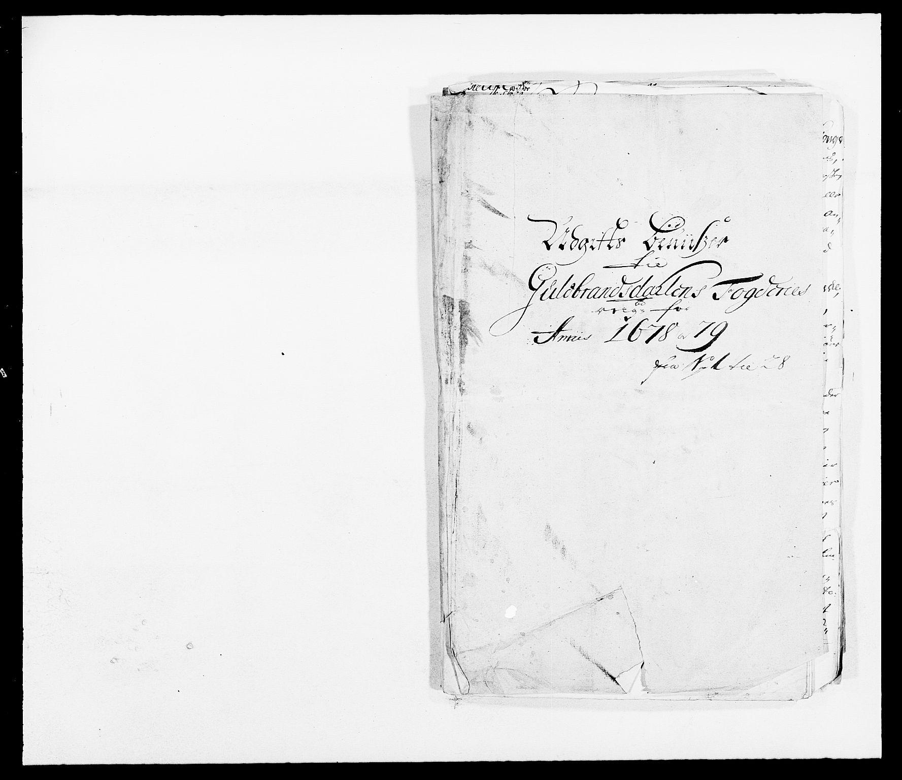 RA, Rentekammeret inntil 1814, Reviderte regnskaper, Fogderegnskap, R17/L1153: Fogderegnskap Gudbrandsdal, 1678-1679, s. 438