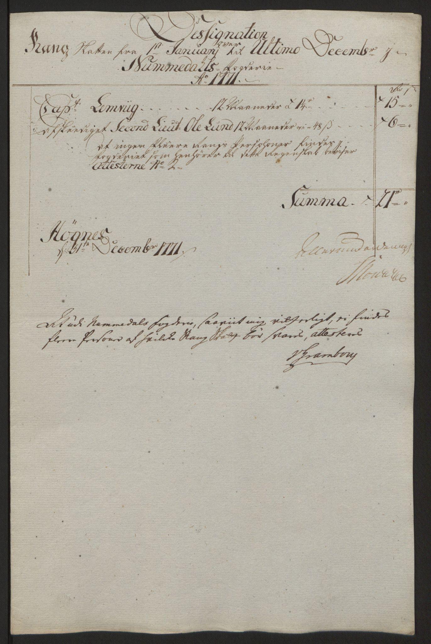 RA, Rentekammeret inntil 1814, Reviderte regnskaper, Fogderegnskap, R64/L4502: Ekstraskatten Namdal, 1762-1772, s. 400