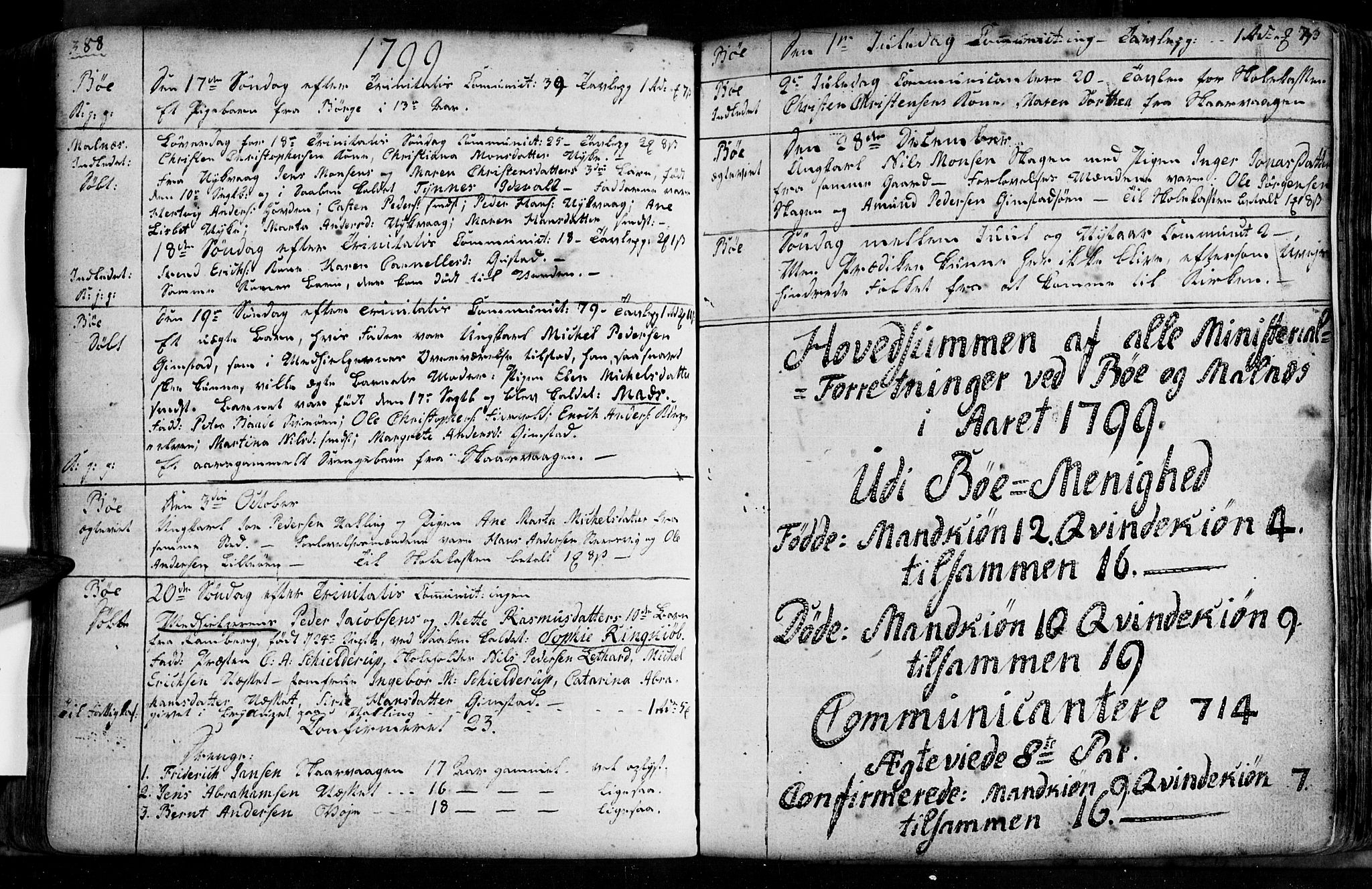 SAT, Ministerialprotokoller, klokkerbøker og fødselsregistre - Nordland, 891/L1297: Ministerialbok nr. 891A02, 1759-1820, s. 488-489