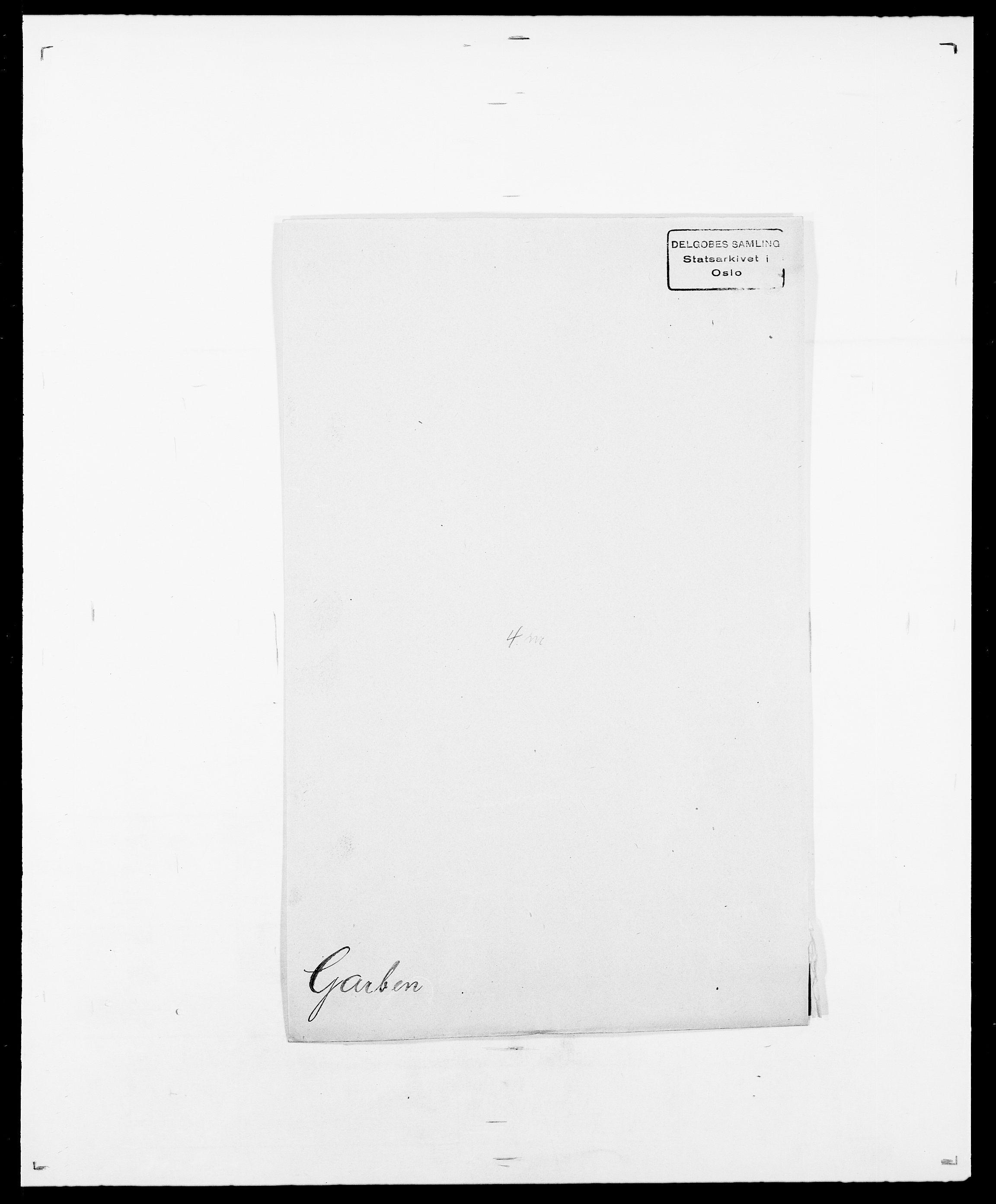 SAO, Delgobe, Charles Antoine - samling, D/Da/L0013: Forbos - Geving, s. 494
