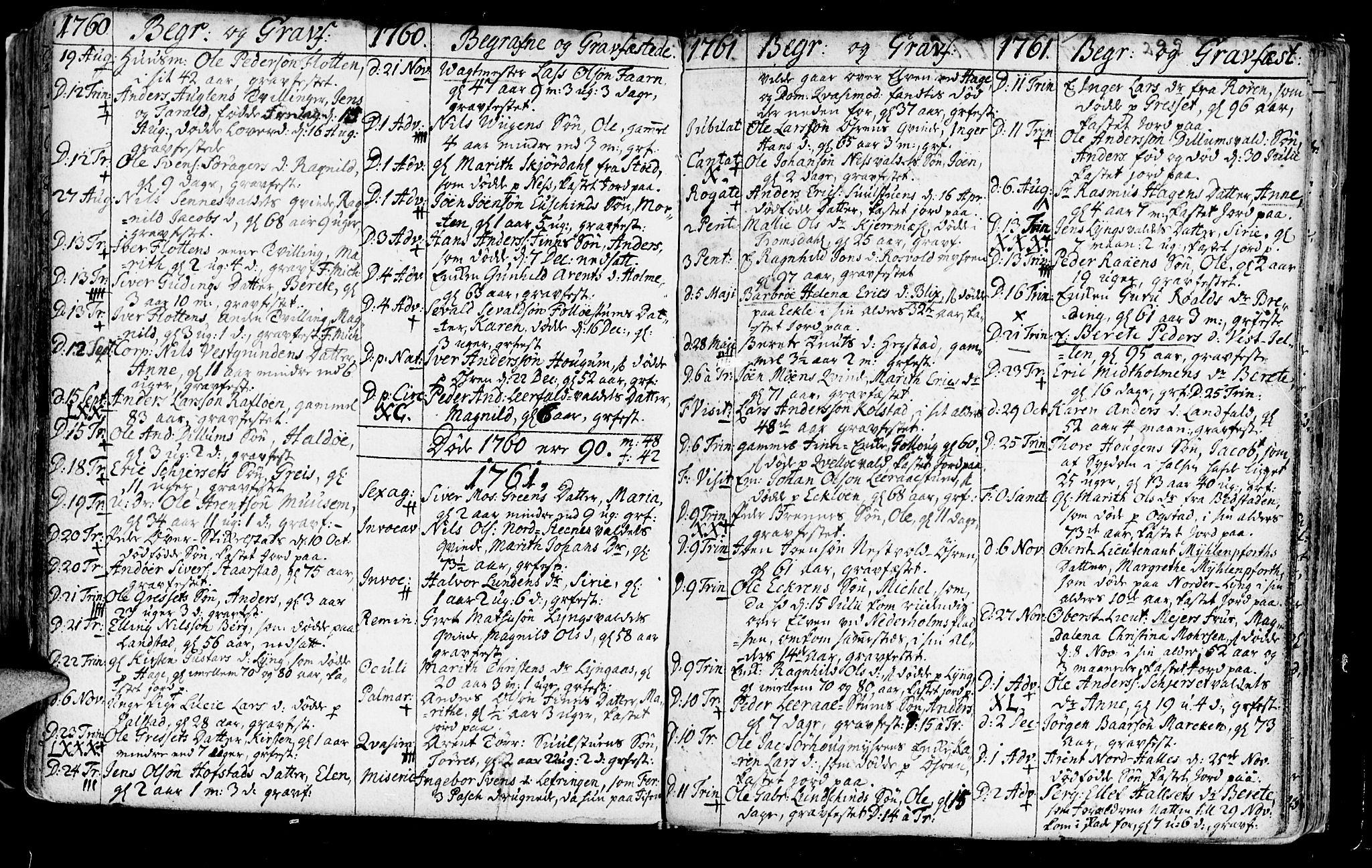 SAT, Ministerialprotokoller, klokkerbøker og fødselsregistre - Nord-Trøndelag, 723/L0231: Ministerialbok nr. 723A02, 1748-1780, s. 299
