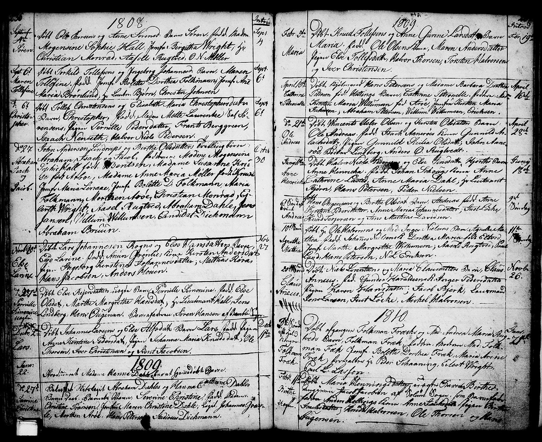 SAKO, Porsgrunn kirkebøker , F/Fa/L0001: Ministerialbok nr. 1, 1764-1814, s. 236-237