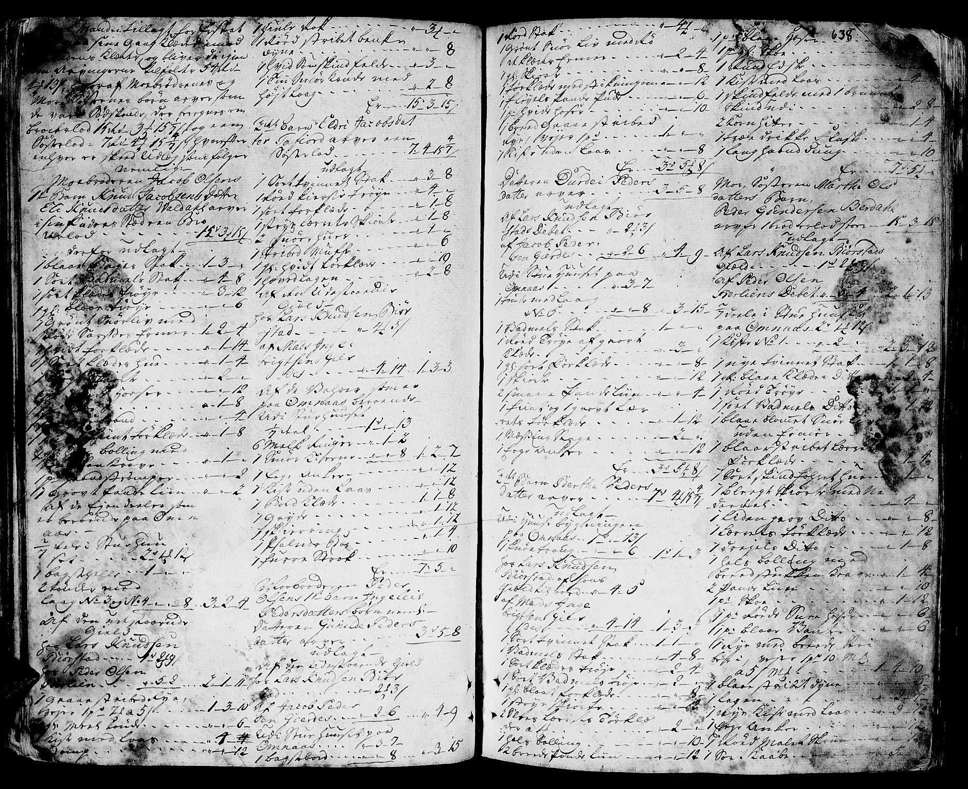 SAT, Sunnmøre sorenskriveri, 3/3A/L0020: Skifteprotokoll 14B, 1761-1763, s. 637b-638a