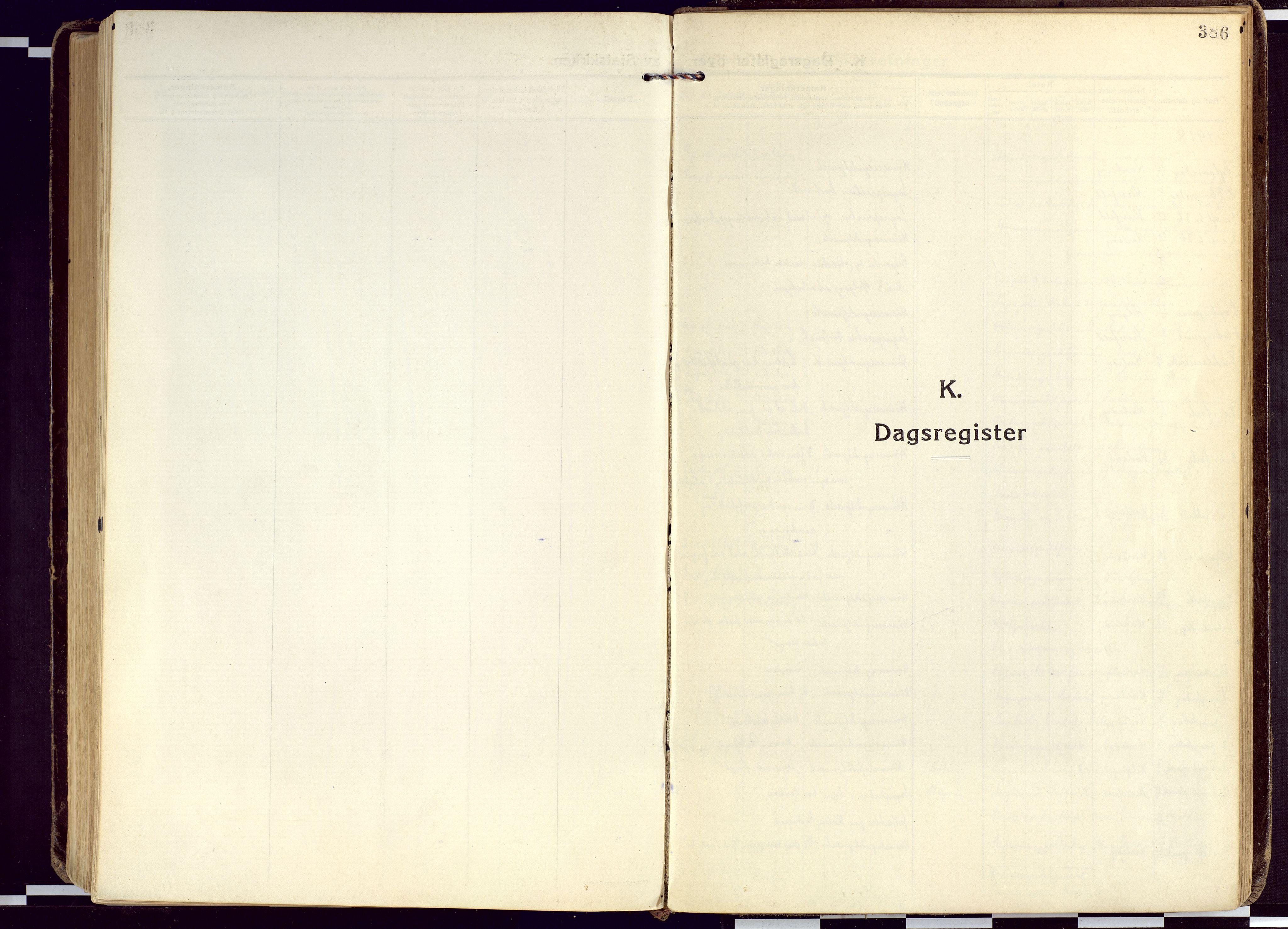 SATØ, Karlsøy sokneprestembete, Ministerialbok nr. 15, 1918-1929, s. 386