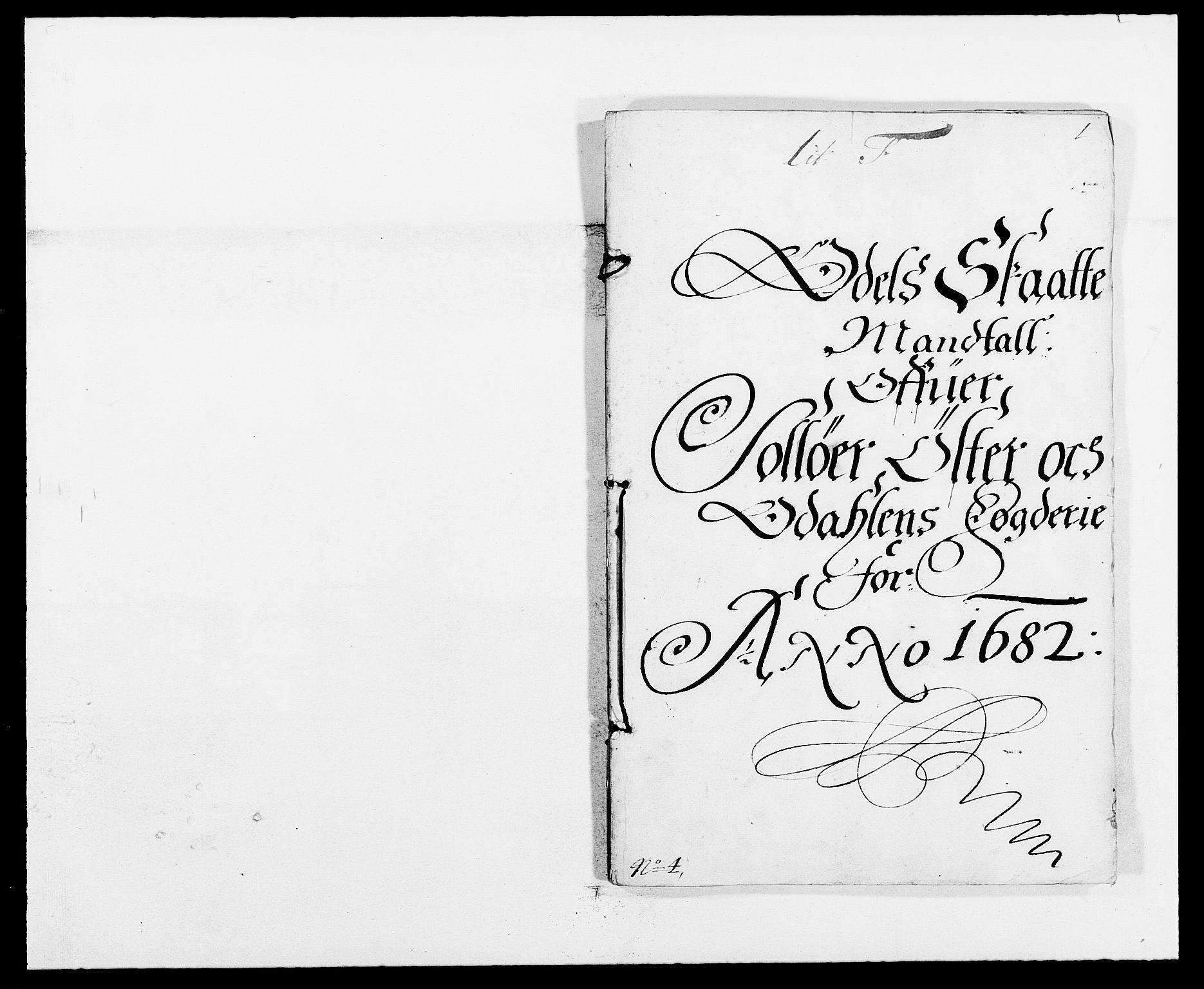 RA, Rentekammeret inntil 1814, Reviderte regnskaper, Fogderegnskap, R13/L0819: Fogderegnskap Solør, Odal og Østerdal, 1682, s. 273