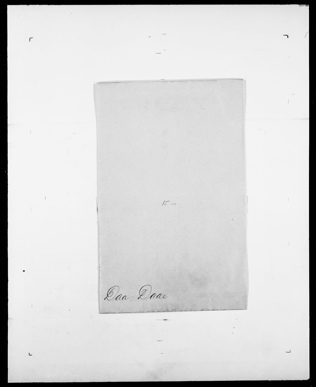 SAO, Delgobe, Charles Antoine - samling, D/Da/L0008: Capjon - Dagenbolt, s. 660