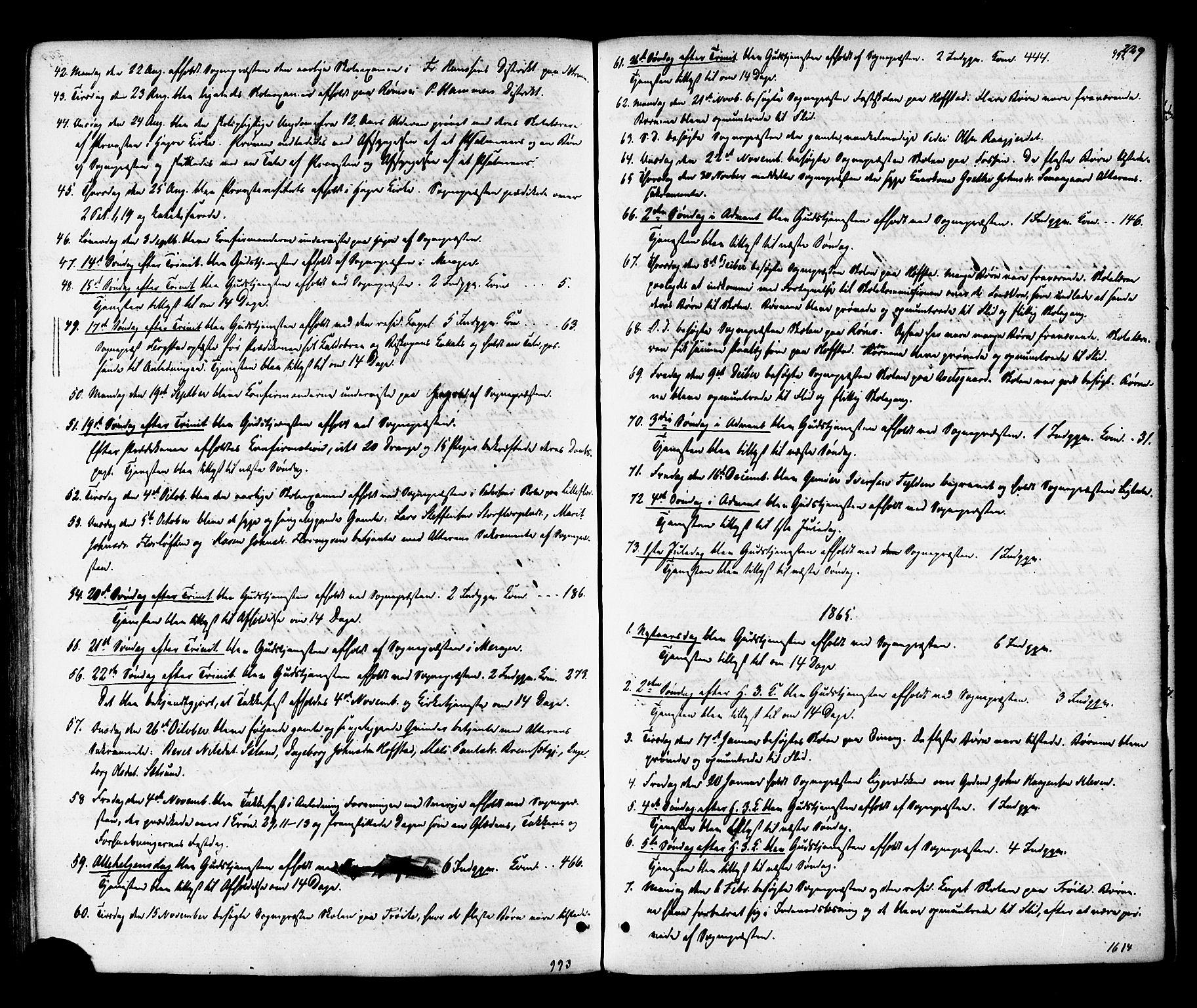 SAT, Ministerialprotokoller, klokkerbøker og fødselsregistre - Nord-Trøndelag, 703/L0029: Ministerialbok nr. 703A02, 1863-1879, s. 229