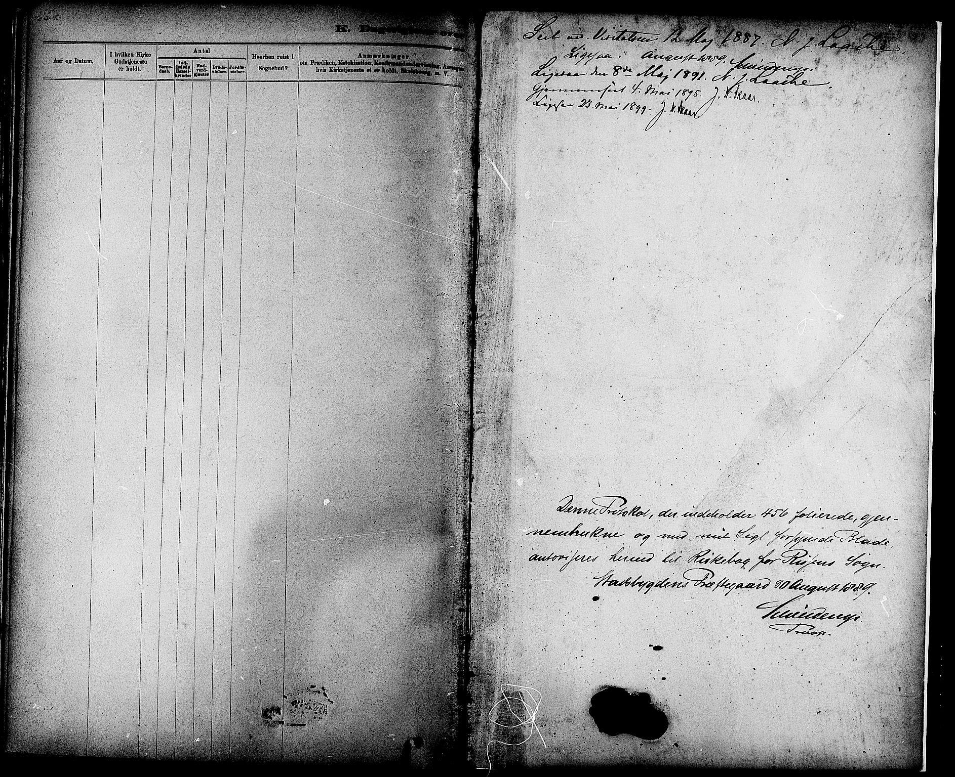 SAT, Ministerialprotokoller, klokkerbøker og fødselsregistre - Sør-Trøndelag, 647/L0634: Ministerialbok nr. 647A01, 1885-1896