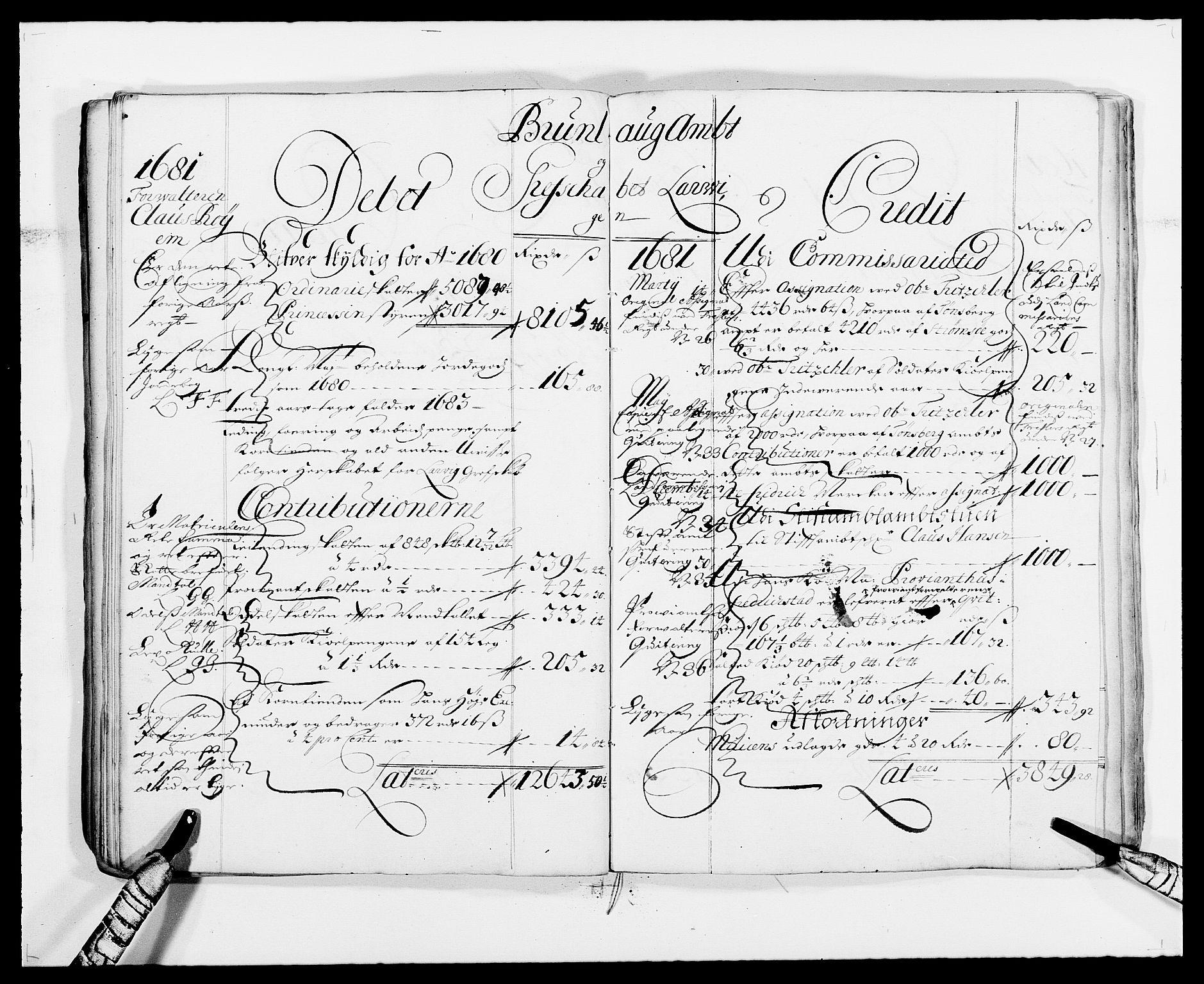 RA, Rentekammeret inntil 1814, Reviderte regnskaper, Fogderegnskap, R33/L1967: Fogderegnskap Larvik grevskap, 1675-1687, s. 53