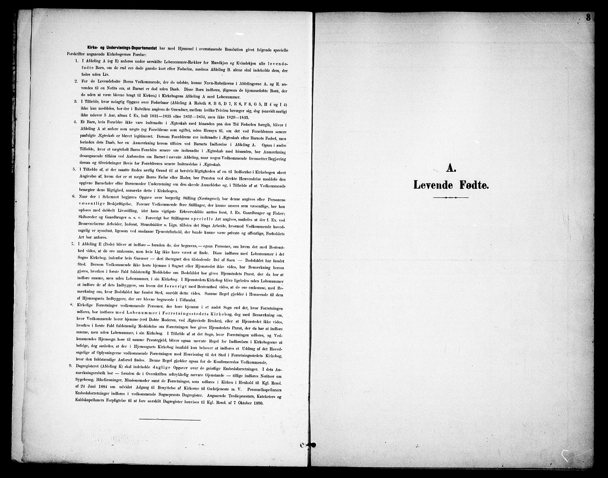 SAO, Høland prestekontor Kirkebøker, F/Fa/L0015: Ministerialbok nr. I 15, 1897-1912, s. 3