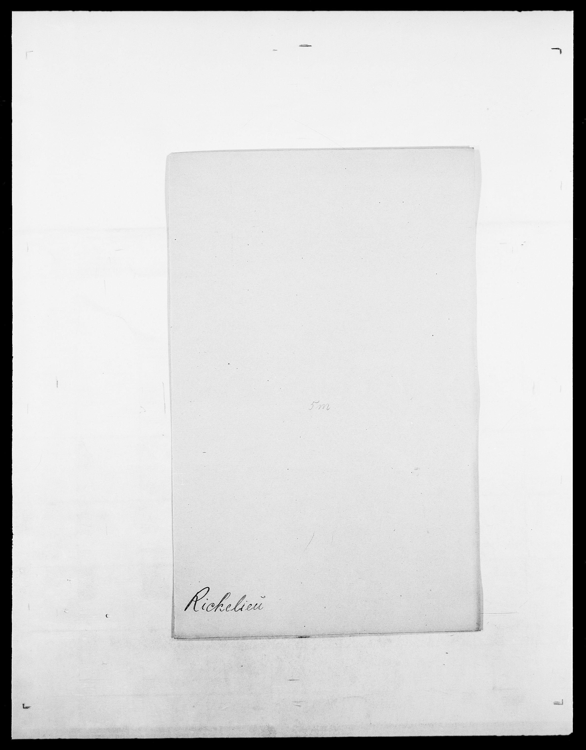 SAO, Delgobe, Charles Antoine - samling, D/Da/L0032: Rabakovsky - Rivertz, s. 536