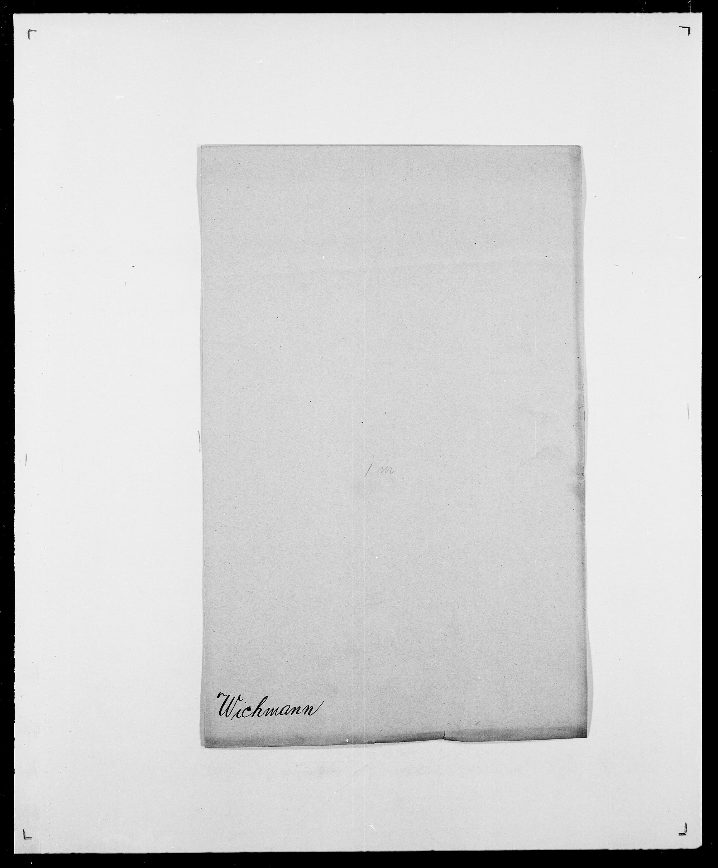 SAO, Delgobe, Charles Antoine - samling, D/Da/L0041: Vemmestad - Viker, s. 445