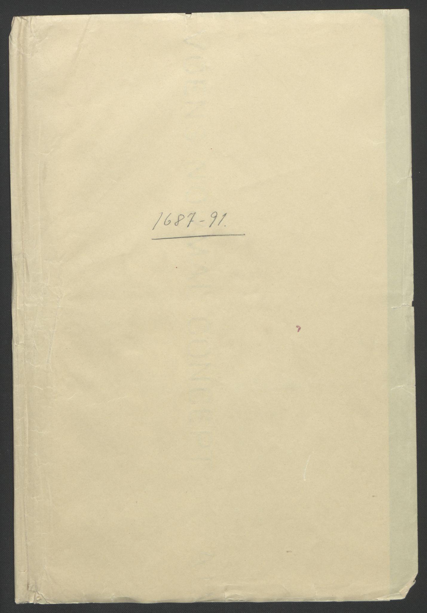 RA, Rentekammeret inntil 1814, Reviderte regnskaper, Fogderegnskap, R56/L3734: Fogderegnskap Nordmøre, 1690-1691, s. 461