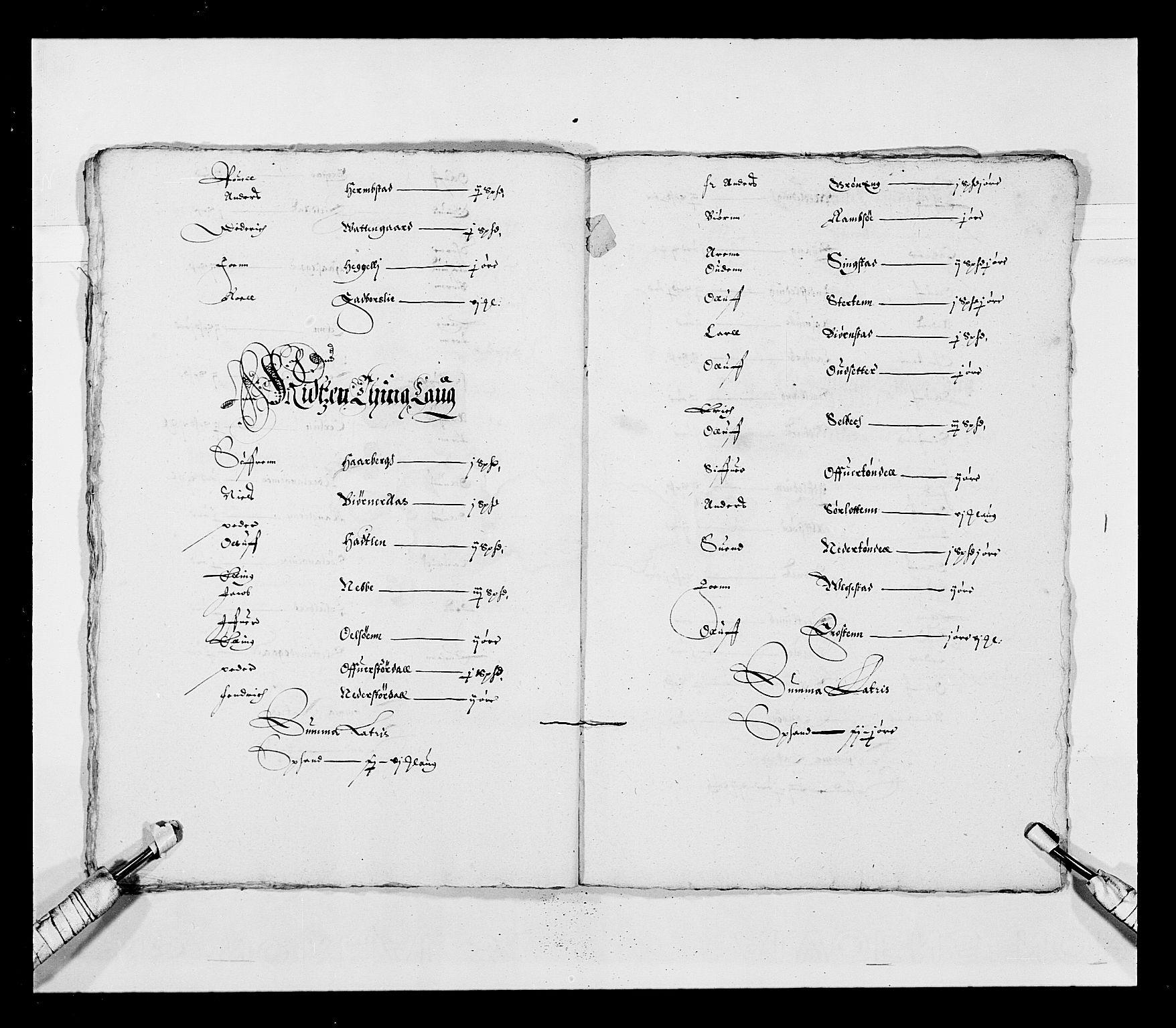 RA, Stattholderembetet 1572-1771, Ek/L0028: Jordebøker 1633-1658:, 1645-1646, s. 69