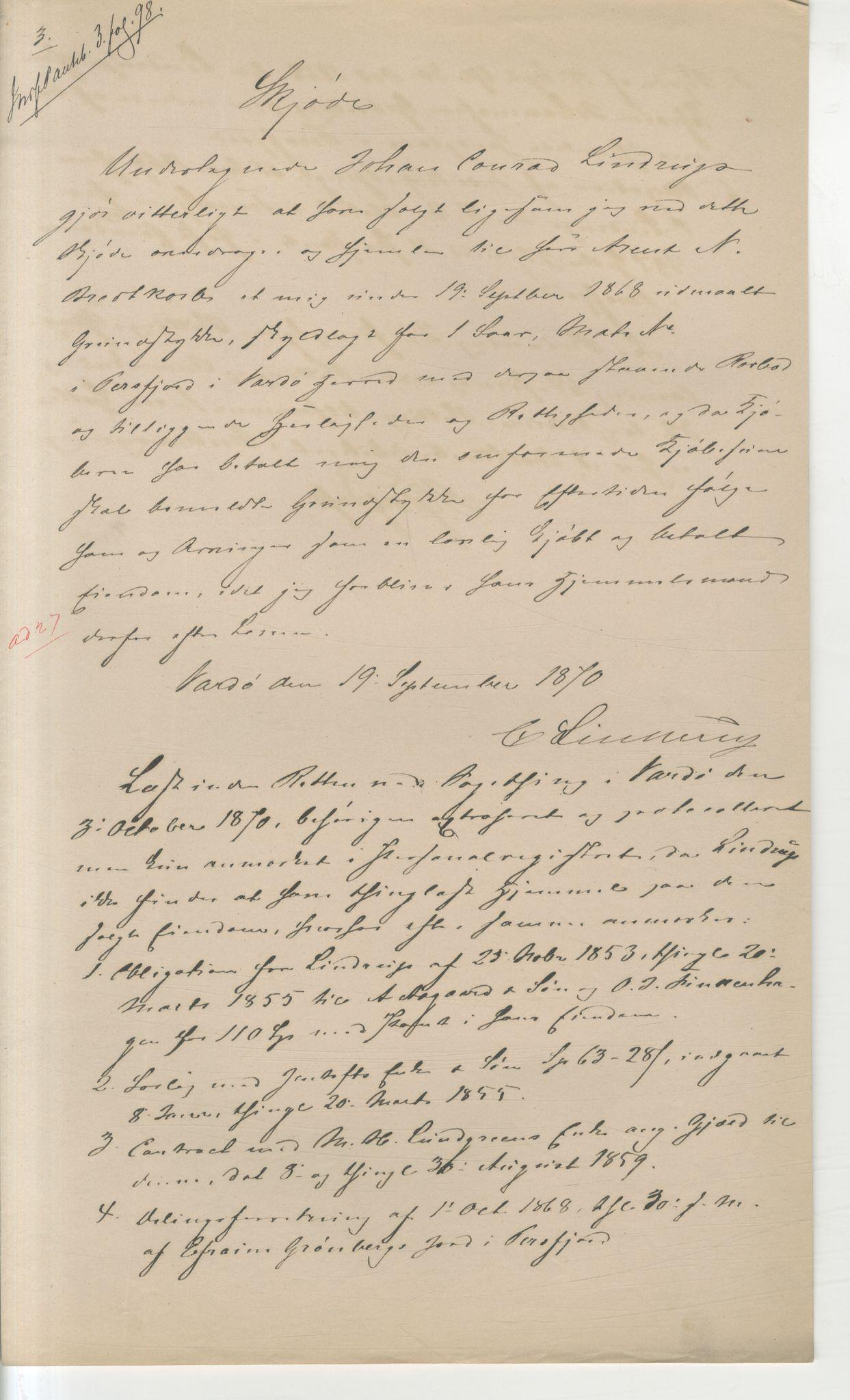 VAMU, Brodtkorb handel A/S, Q/Qb/L0003: Faste eiendommer i Vardø Herred, 1862-1939, s. 86