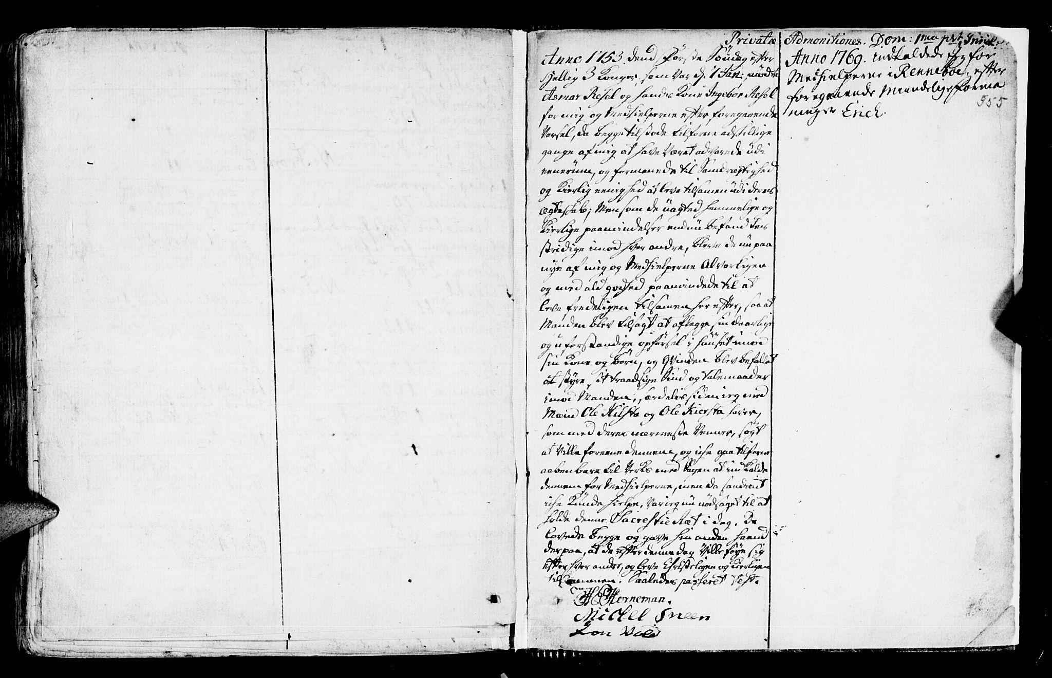 SAT, Ministerialprotokoller, klokkerbøker og fødselsregistre - Sør-Trøndelag, 672/L0851: Ministerialbok nr. 672A04, 1751-1775, s. 555