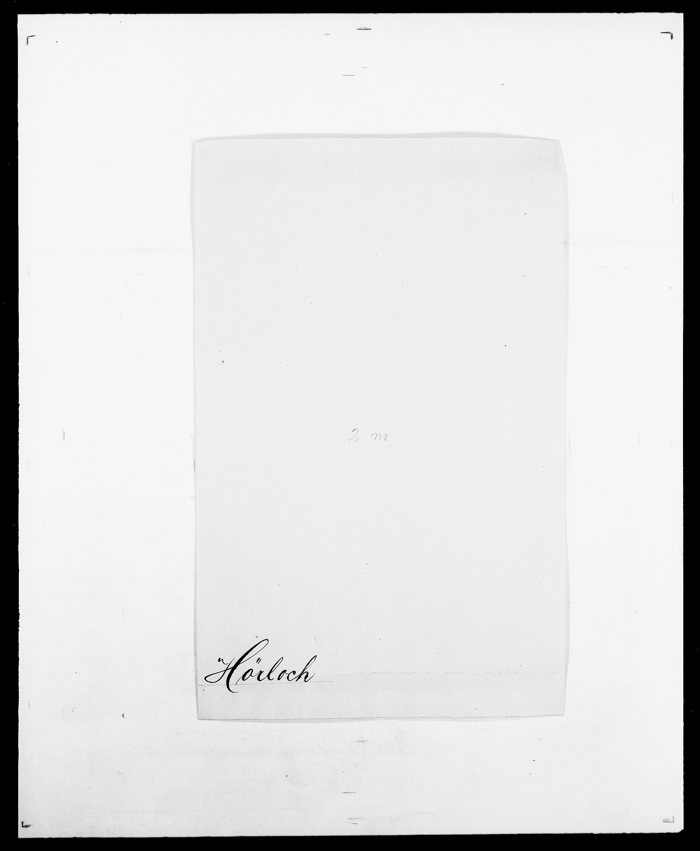 SAO, Delgobe, Charles Antoine - samling, D/Da/L0019: van der Hude - Joys, s. 382