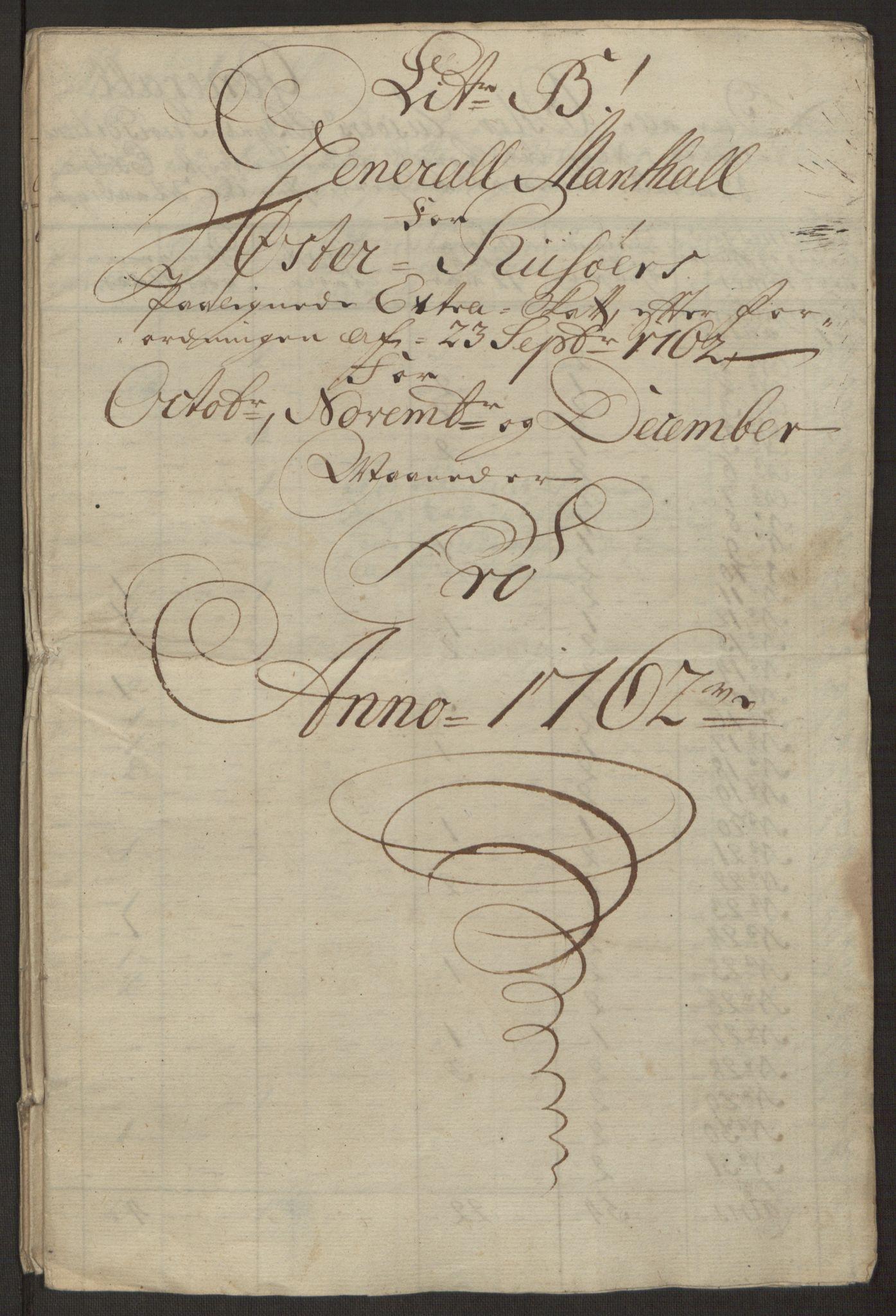 RA, Rentekammeret inntil 1814, Reviderte regnskaper, Byregnskaper, R/Rl/L0230: [L4] Kontribusjonsregnskap, 1762-1764, s. 71