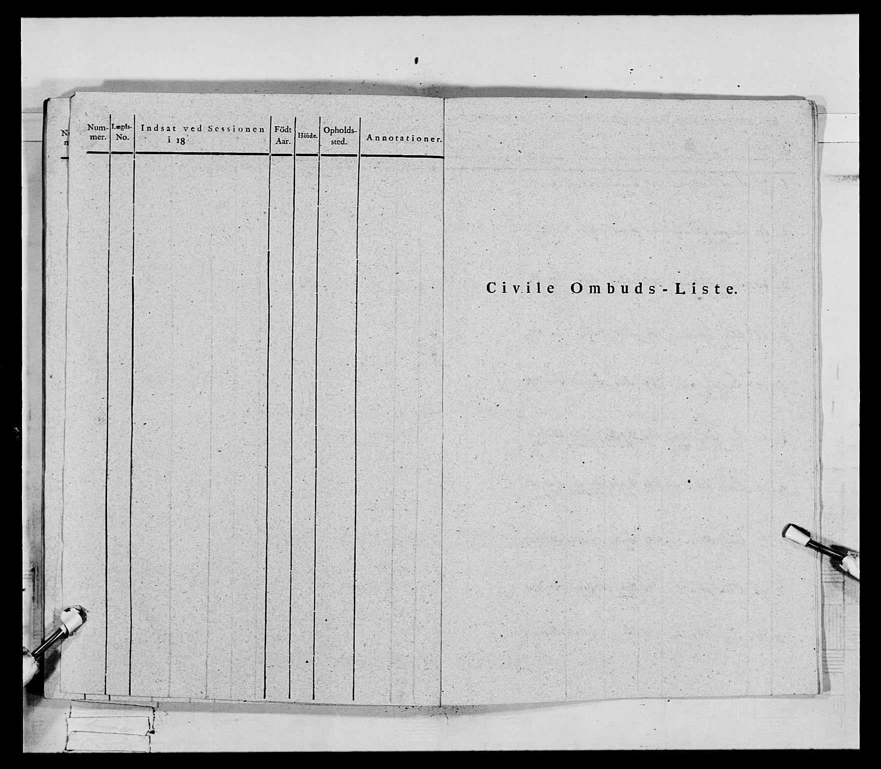 RA, Generalitets- og kommissariatskollegiet, Det kongelige norske kommissariatskollegium, E/Eh/L0069: Opplandske gevorbne infanteriregiment, 1810-1818, s. 564