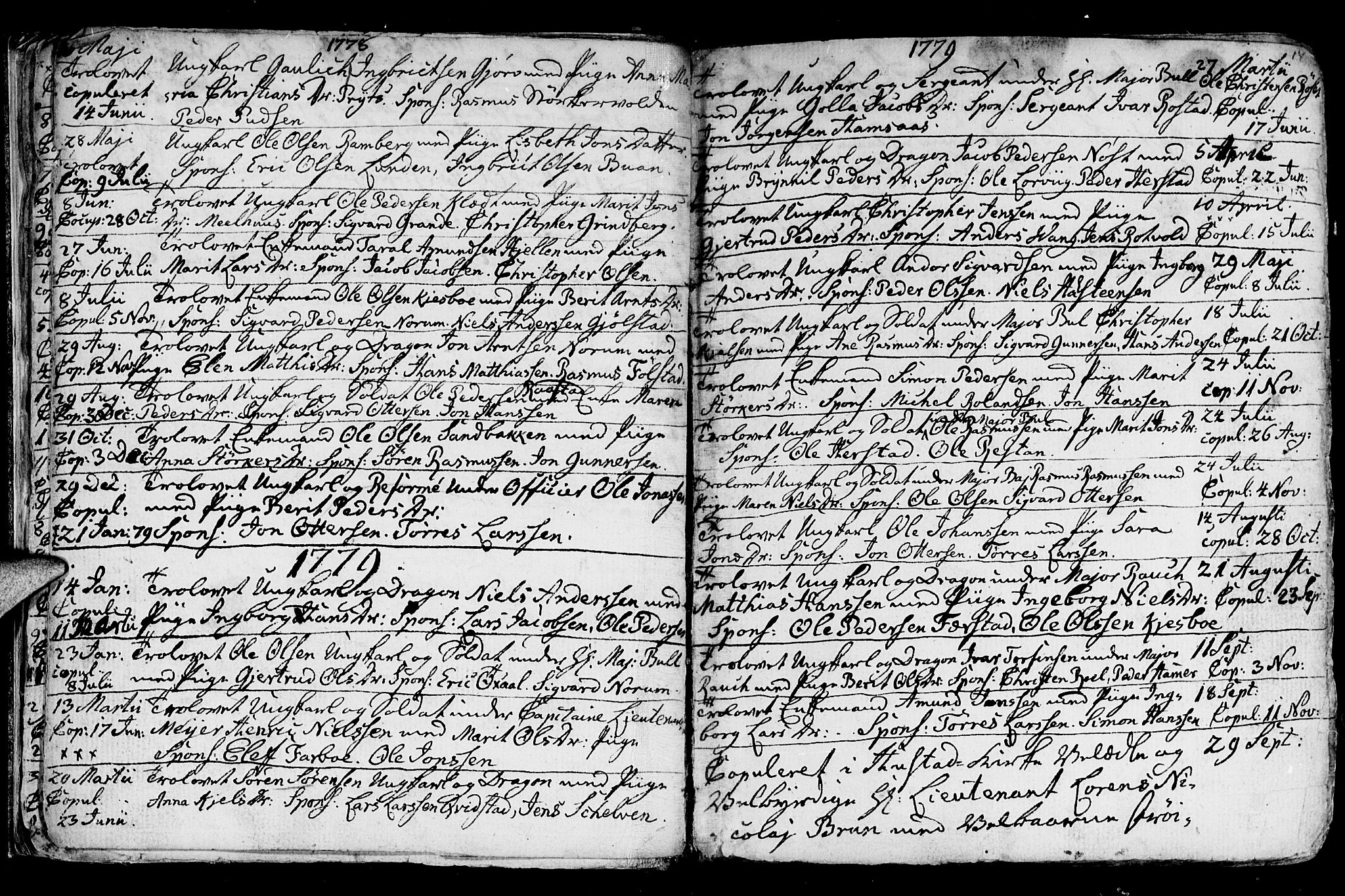 SAT, Ministerialprotokoller, klokkerbøker og fødselsregistre - Nord-Trøndelag, 730/L0273: Ministerialbok nr. 730A02, 1762-1802, s. 14