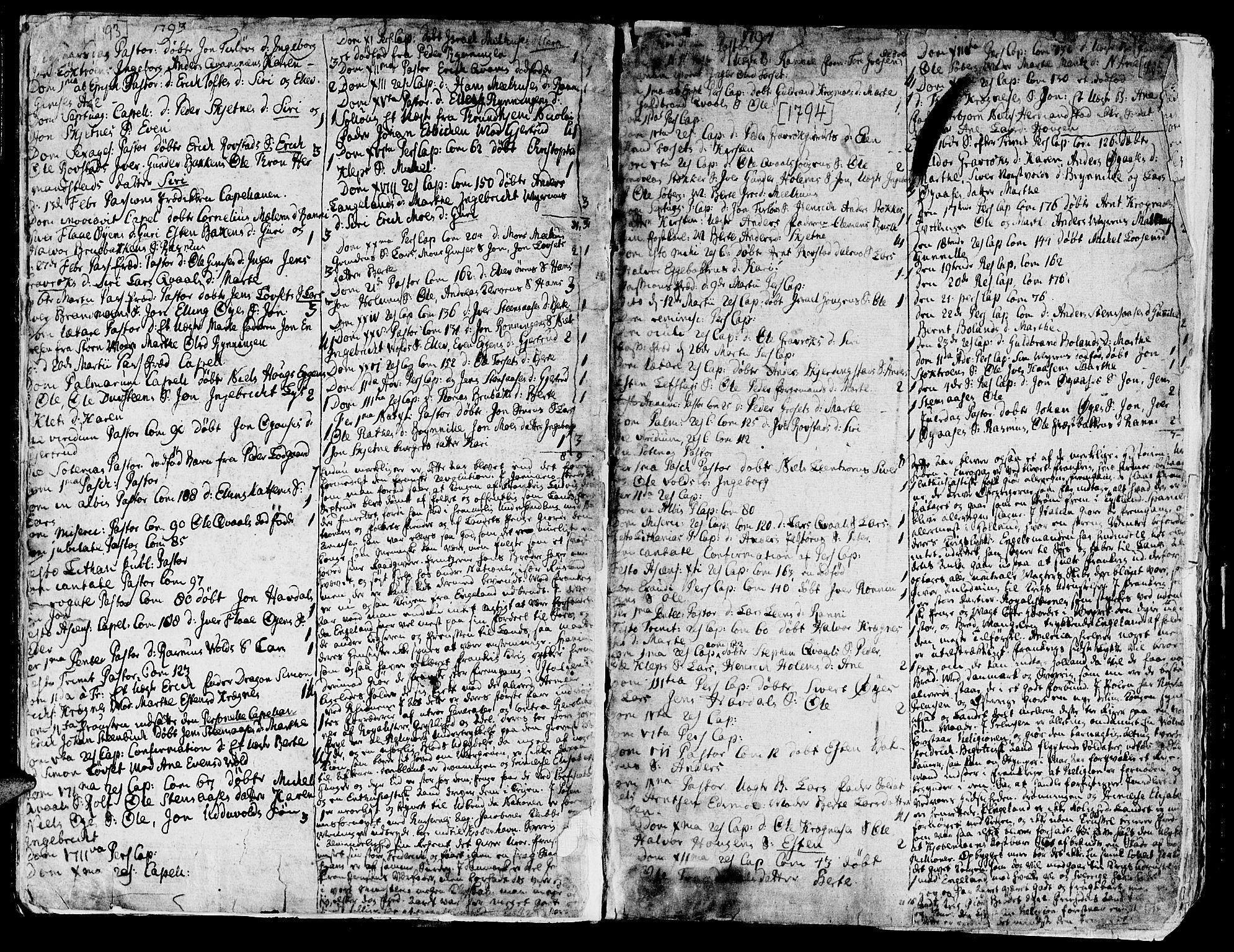SAT, Ministerialprotokoller, klokkerbøker og fødselsregistre - Sør-Trøndelag, 691/L1061: Ministerialbok nr. 691A02 /1, 1768-1815, s. 15