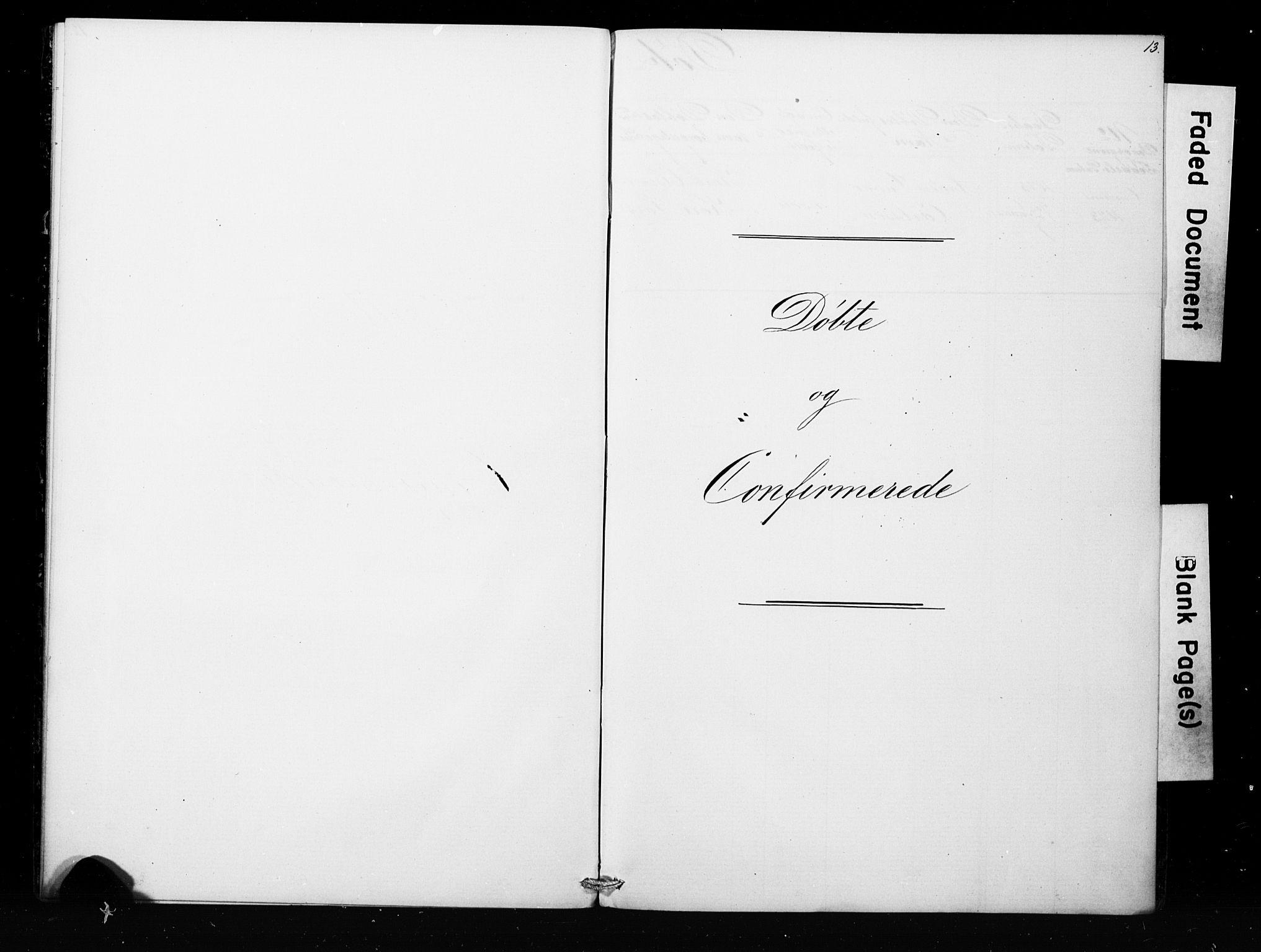 SAB, Bergens strafanstalts sokneprestembete*, Klokkerbok nr. A 1, 1874-1884, s. 13