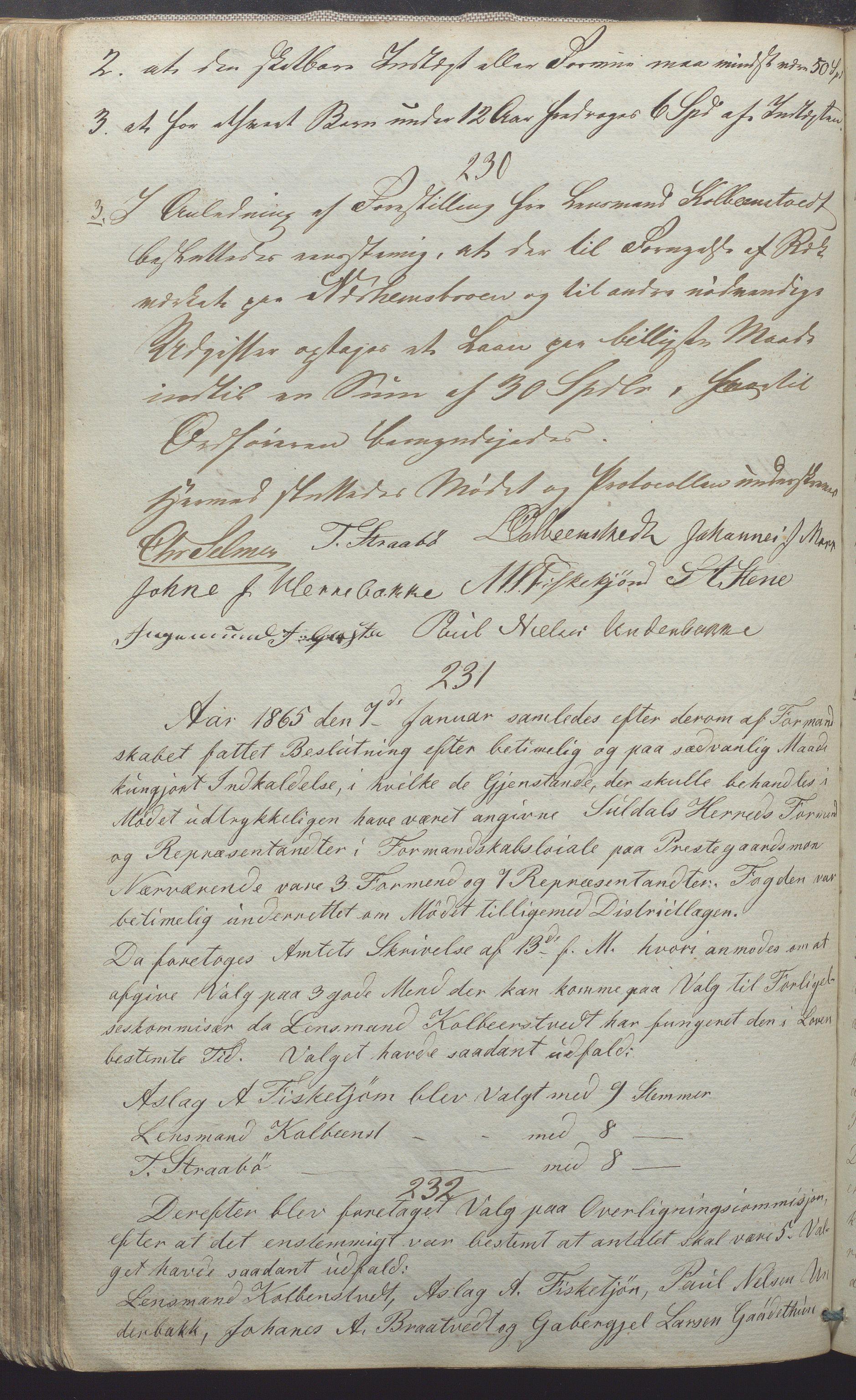 IKAR, Suldal kommune - Formannskapet/Rådmannen, A/Aa/L0001: Møtebok, 1837-1876, s. 150b