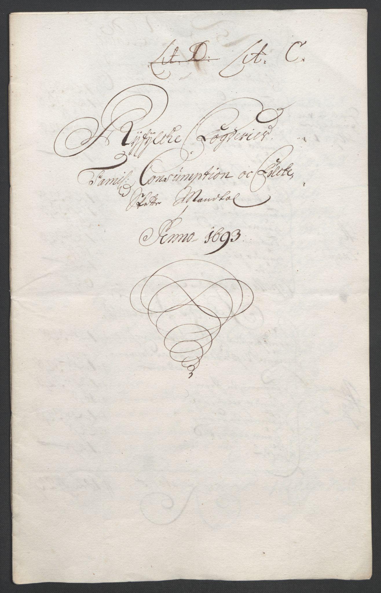RA, Rentekammeret inntil 1814, Reviderte regnskaper, Fogderegnskap, R47/L2856: Fogderegnskap Ryfylke, 1689-1693, s. 611
