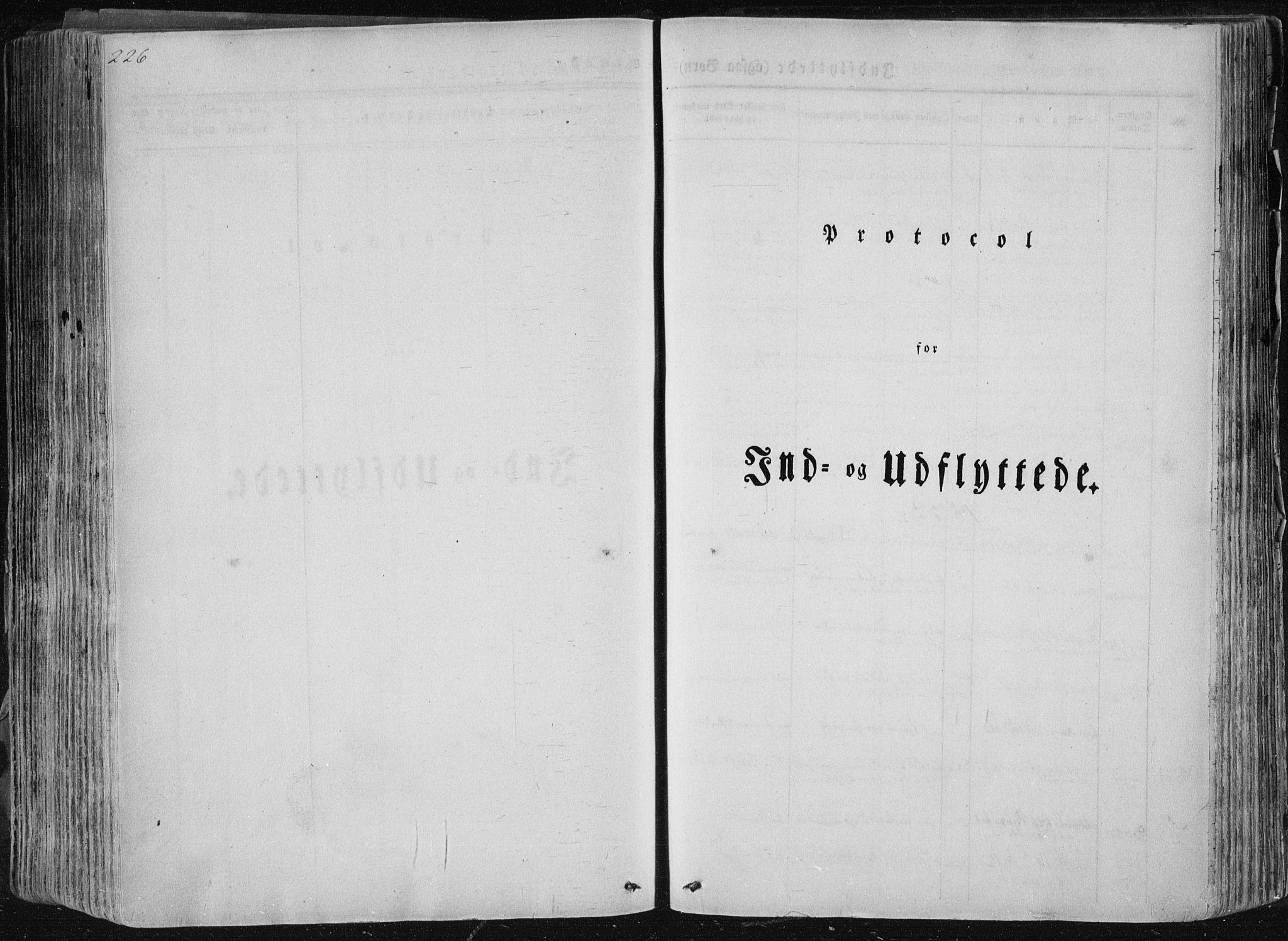 SAKO, Sannidal kirkebøker, F/Fa/L0007: Ministerialbok nr. 7, 1831-1854, s. 226